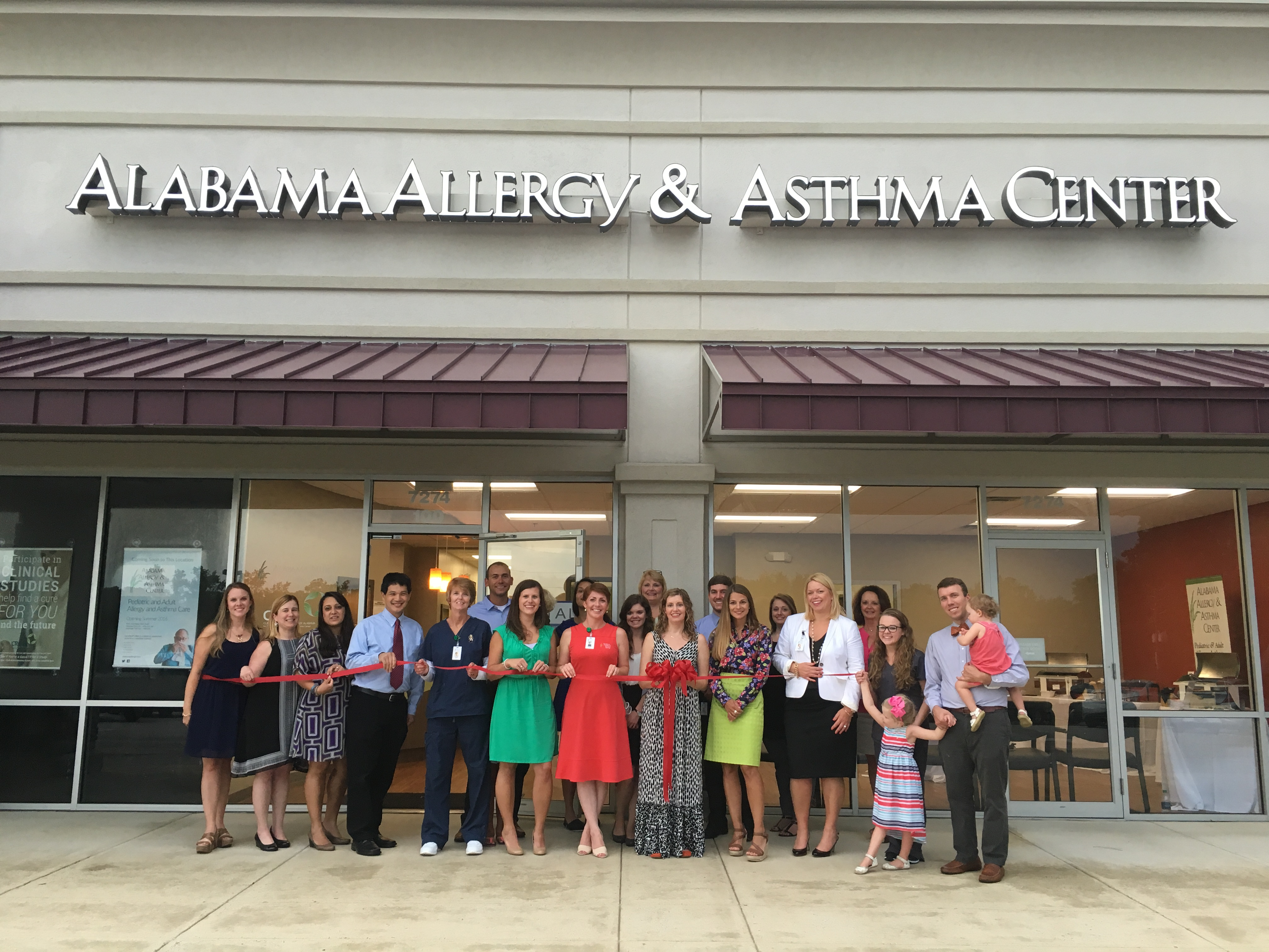 Alabama Allergy and Asthma Center hosts ribbon cutting