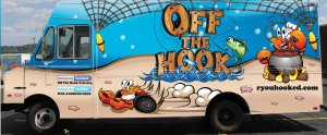 Off the Hook has served a number of Birmingham locations over the past four years, including the University of Alabama-Birmingham campus and Linn Park.