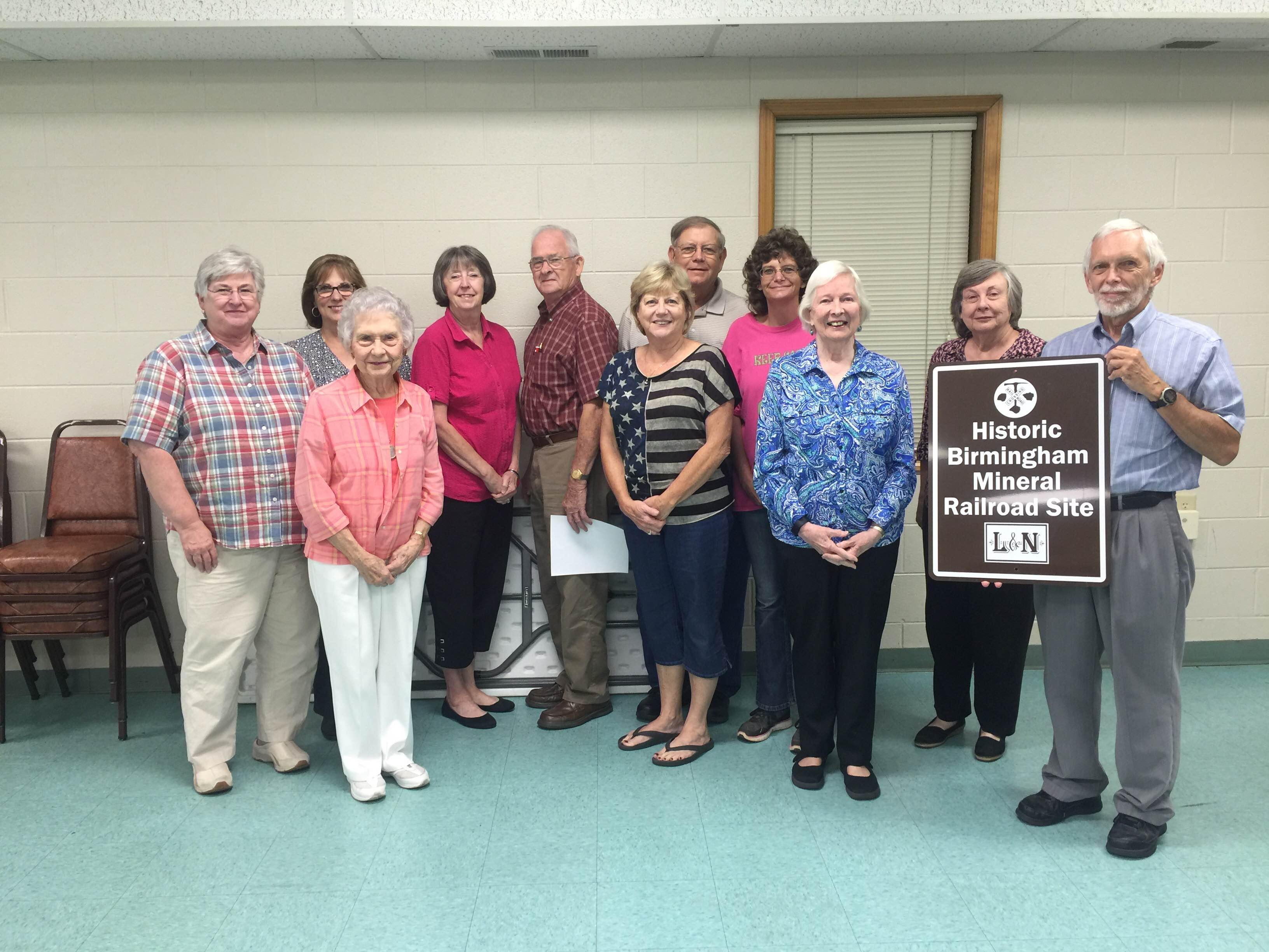 Clay Historical Society learns about Birmingham Mineral Railroad