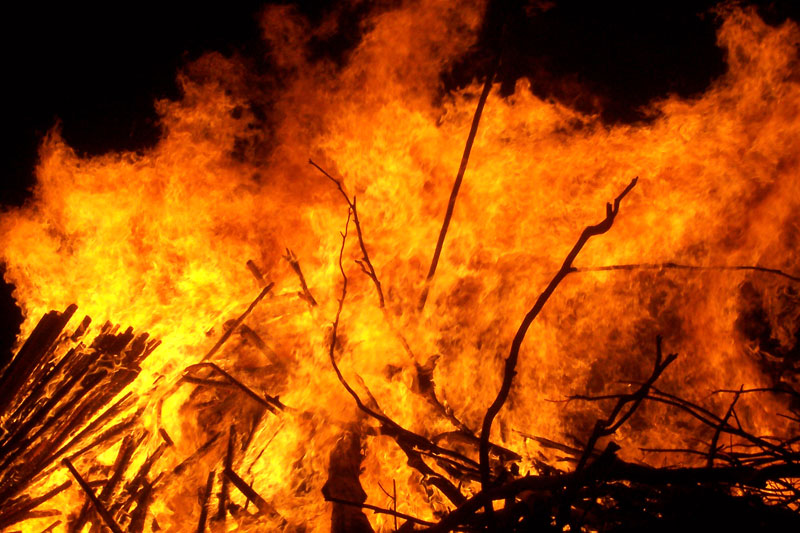 Fire warning issued for Jefferson, Blount counties