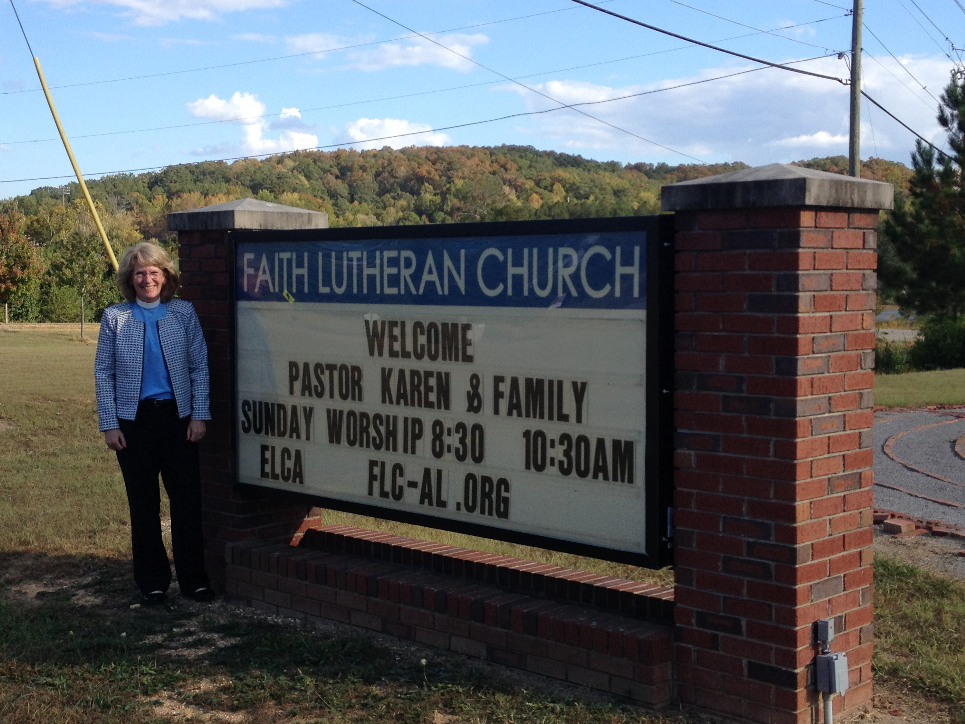 Faith Lutheran Church welcomes new pastor