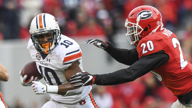 Auburn stumbles at Georgia