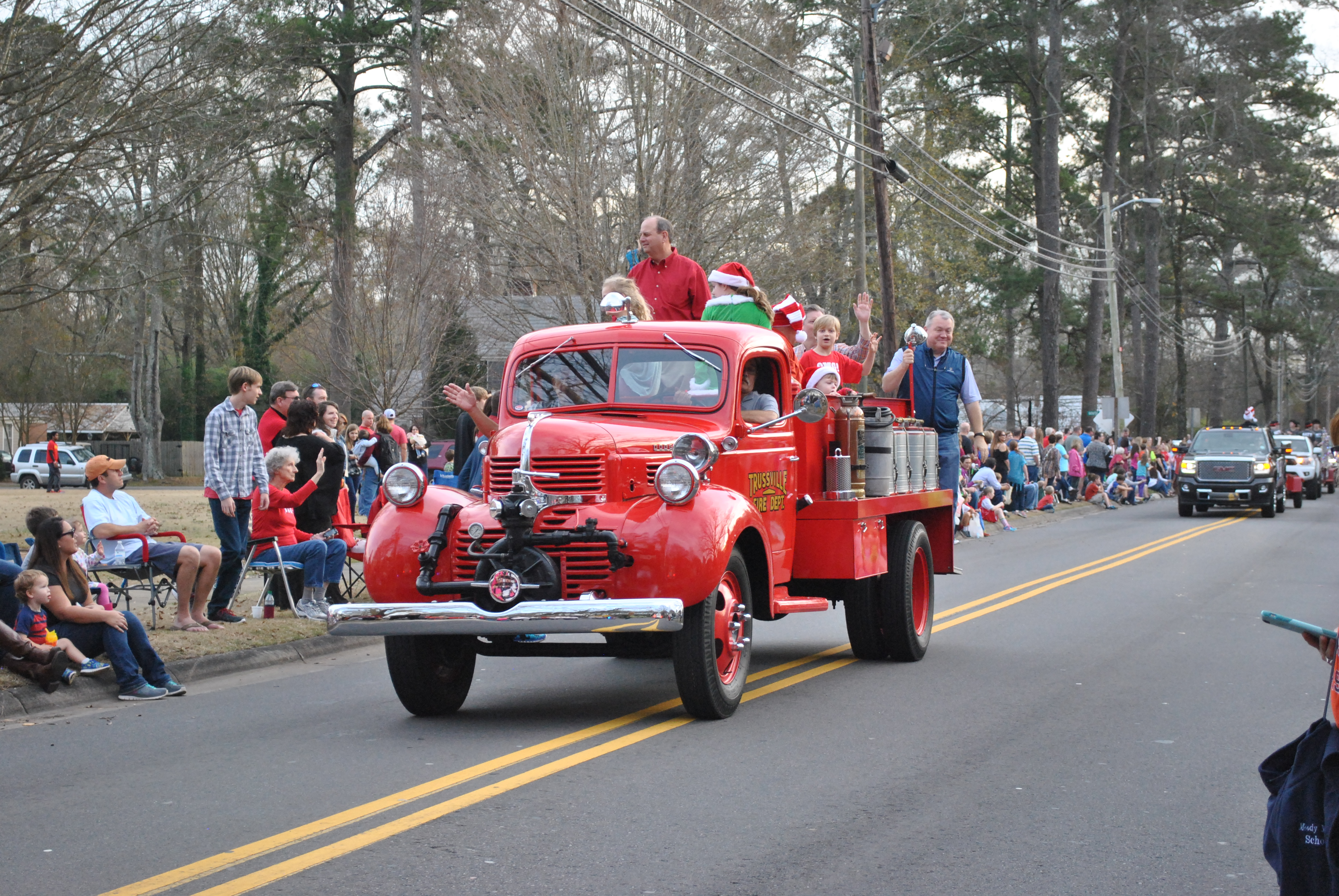 MAP: Trussville Christmas Parade and Cookie Walk this weekend