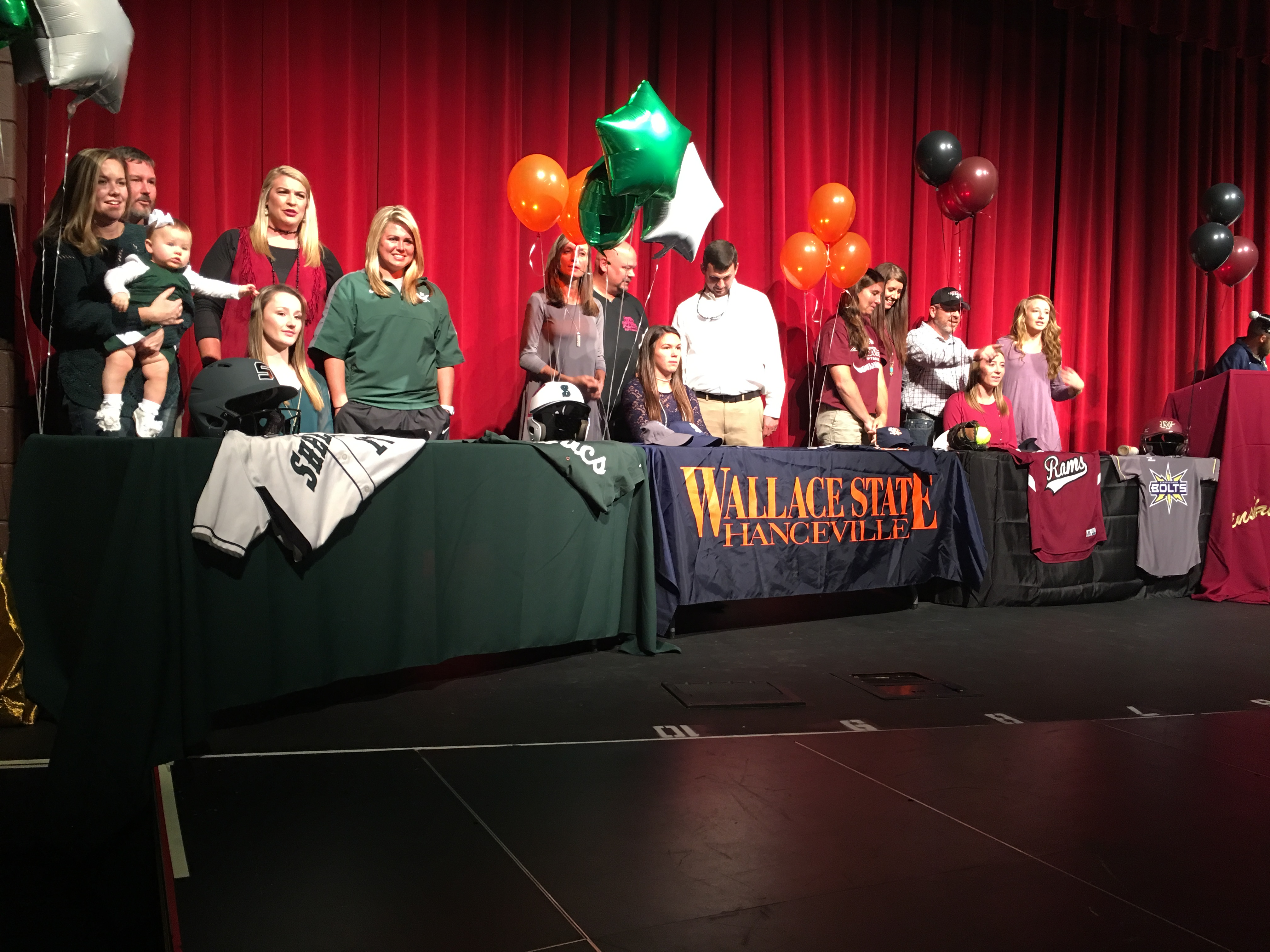 Nine Pinson Valley athletes sign scholarships