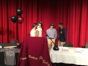 PVHS signing