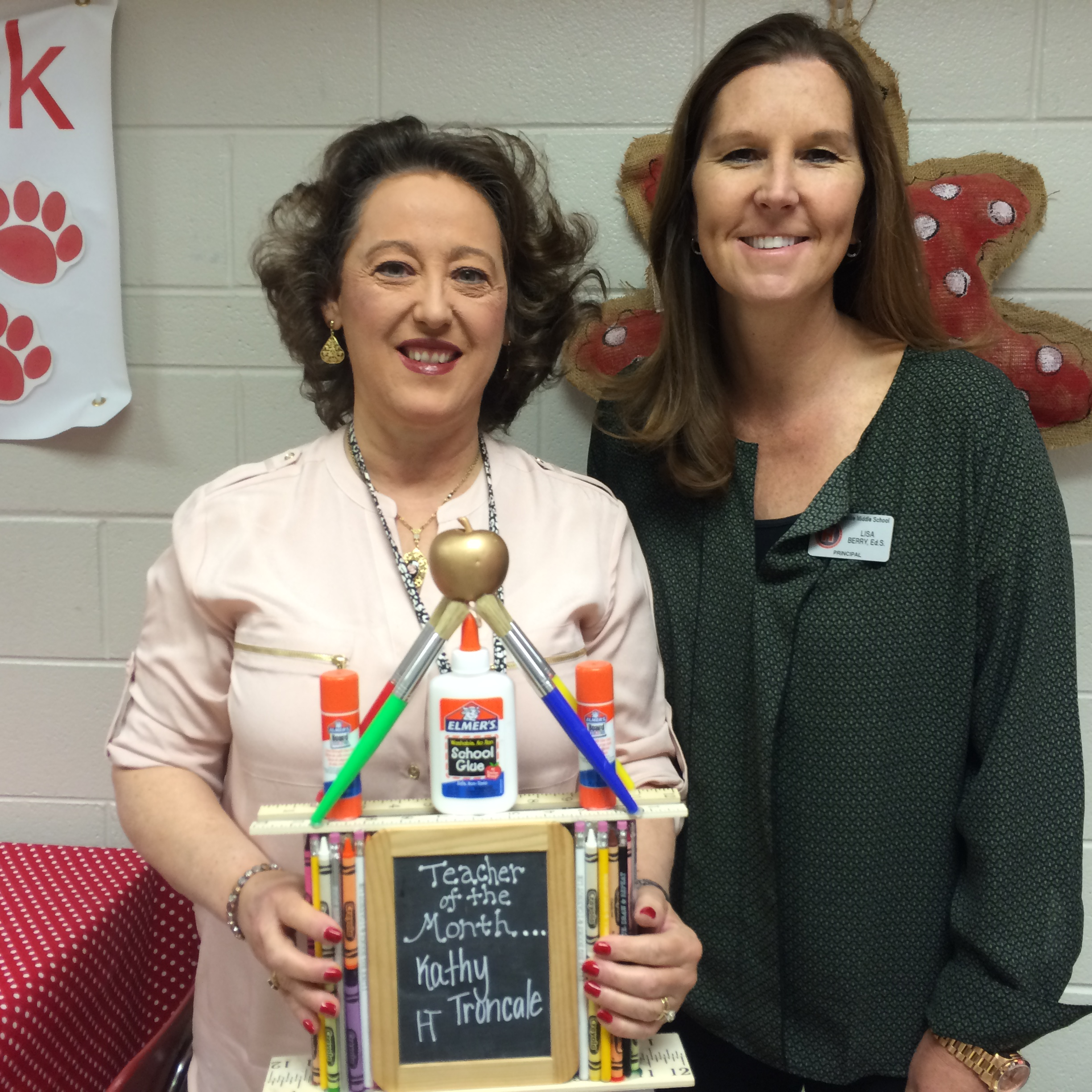 HTMS announces October teacher of the month