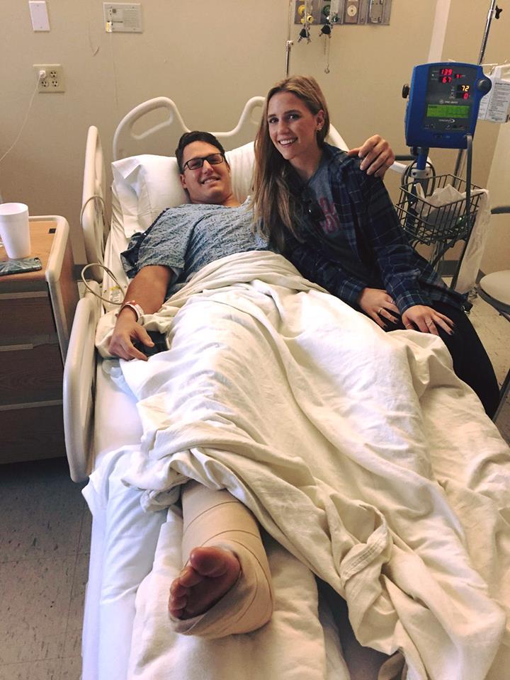 Youngblood's spirits high despite injury