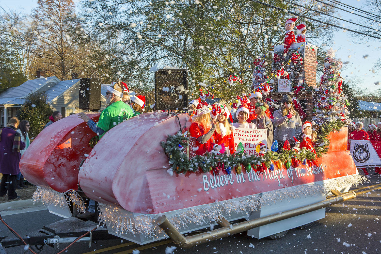 Did you miss the Trussville Christmas parade? Watch it here