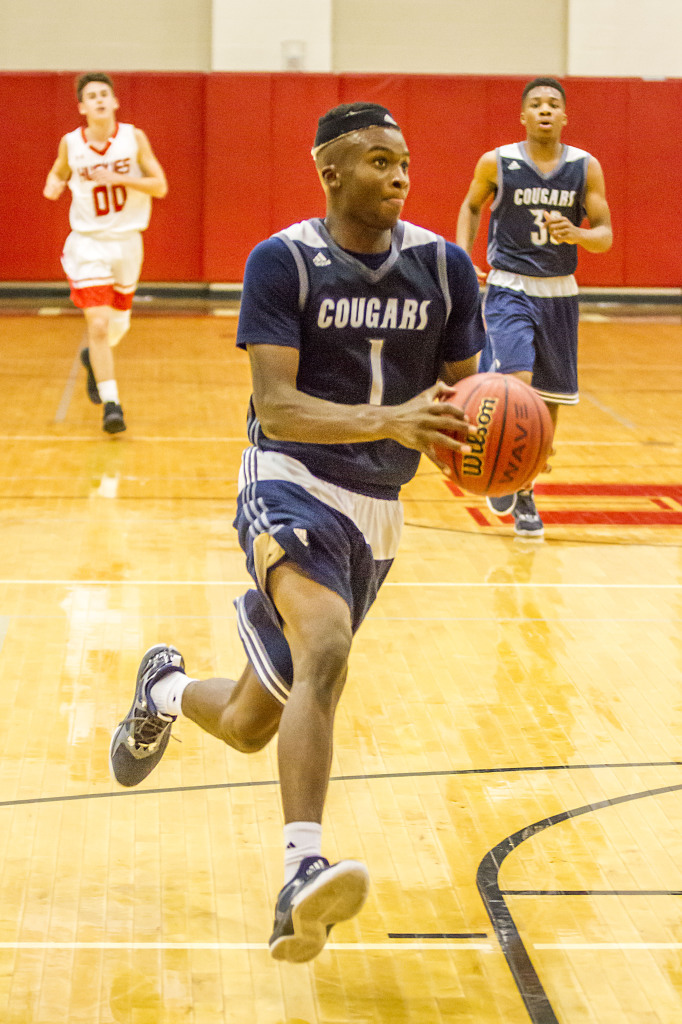 Clay-Chalkville's Anthony Holmes. Photo by Ron Burkett.