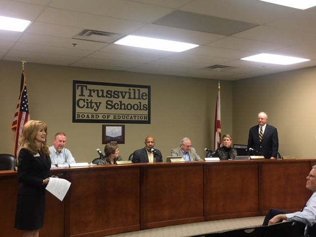 Board of Education recognizes teachers, lawyer, discusses lockdown policy