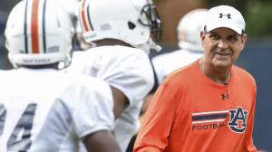 Kevin Steele has Auburn defenders believing. Photo via AuburnTigers.com