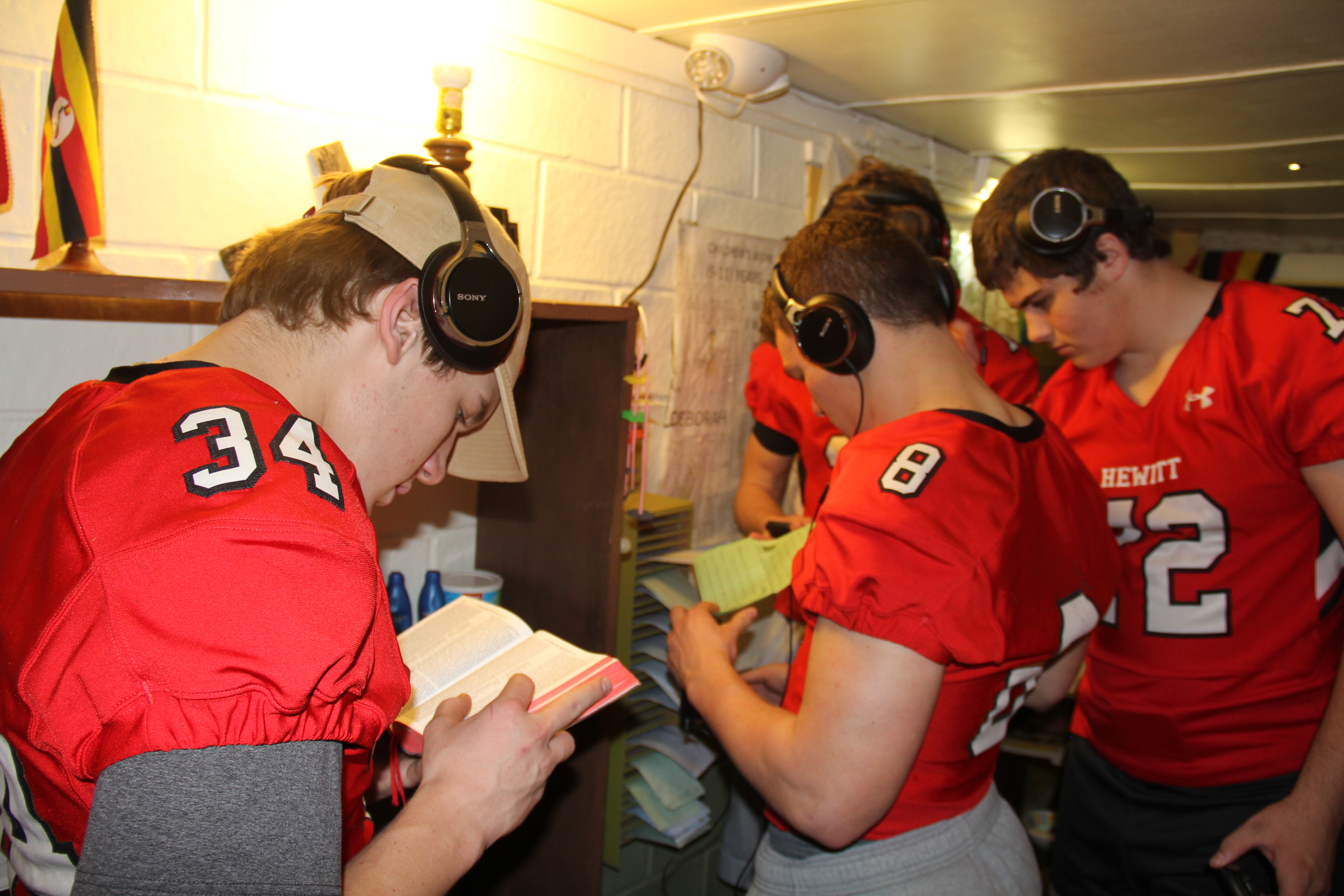 HTHS football team, Trussville residents find Compassion Experience