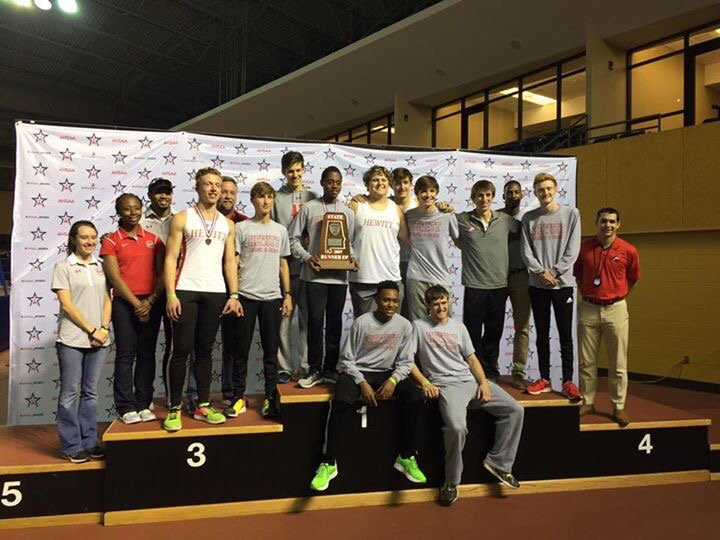 Huskies boys finish second in state indoor meet
