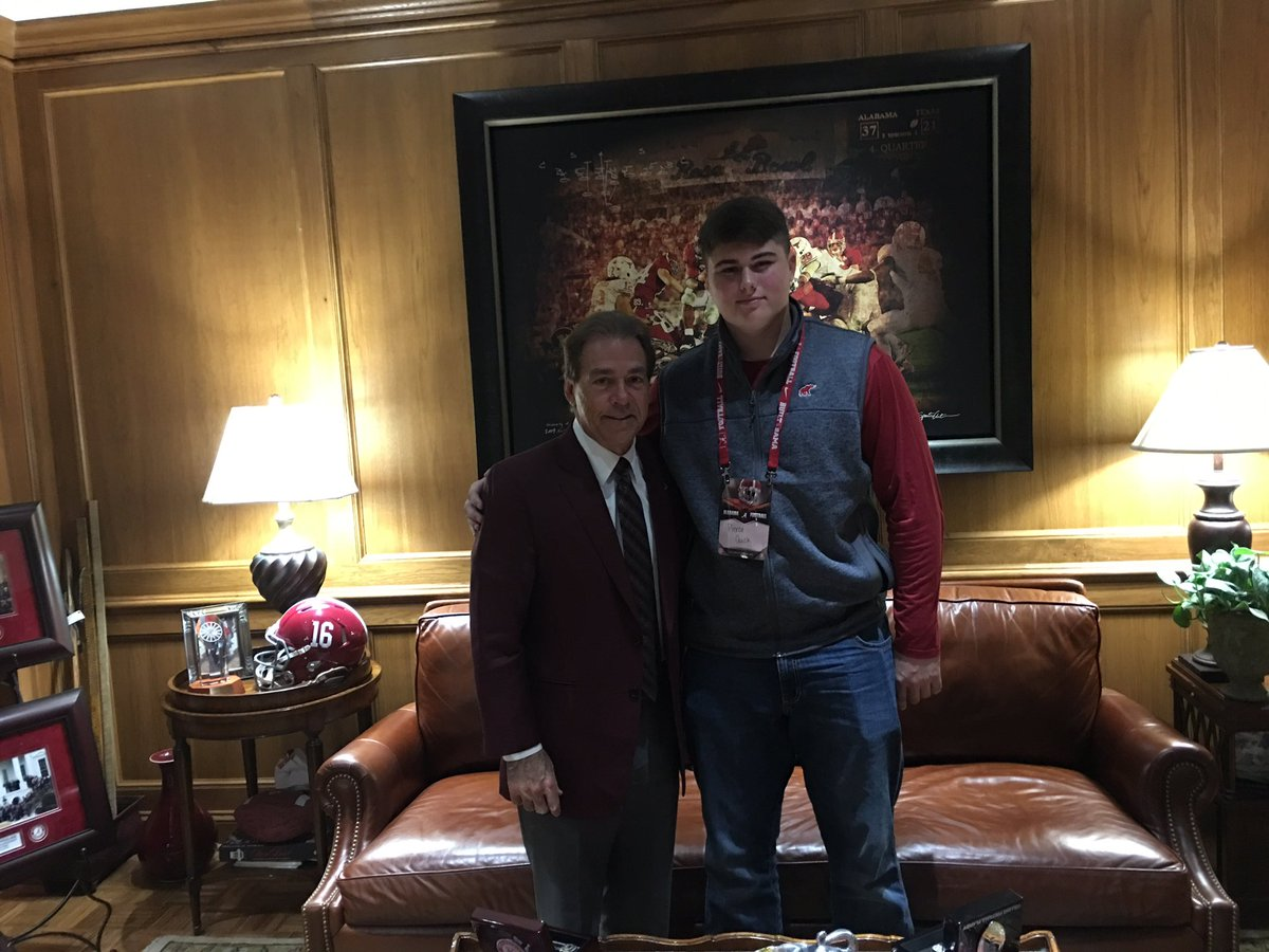 Hewitt-Trussville recruit Pierce Quick commits to Alabama