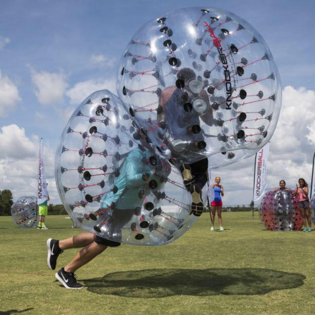 Knockerball offers a different activity for Spring Break