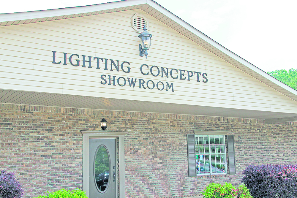 Lighting Concepts strives to be tops in the lighting business in Trussville
