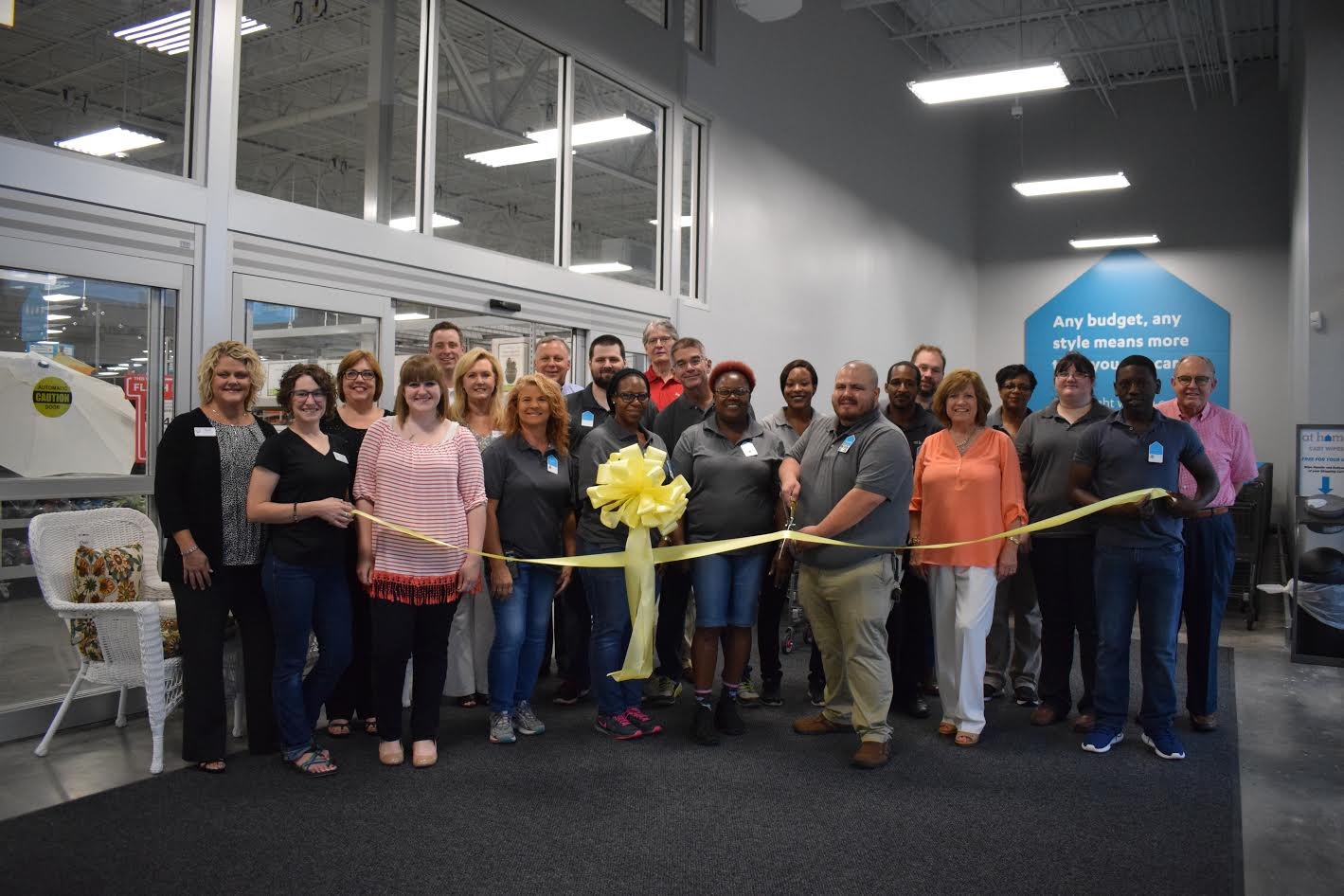 At Home officially opens with ribbon cutting