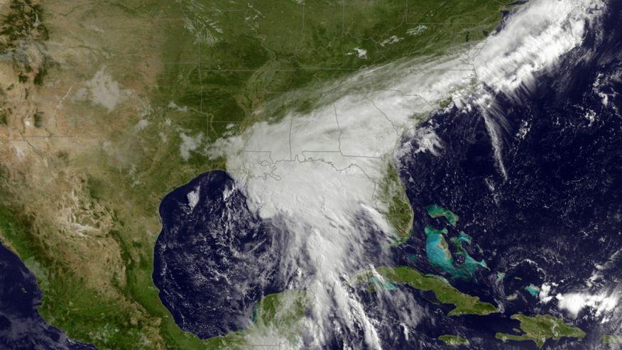 Tropical storm Cindy weakens, leaves damage, one death in wake