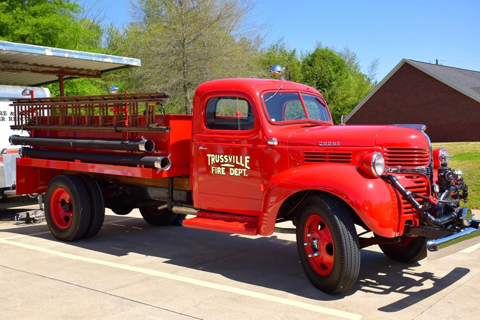 Countdown to 70: Trussville gets a shiny new fire truck