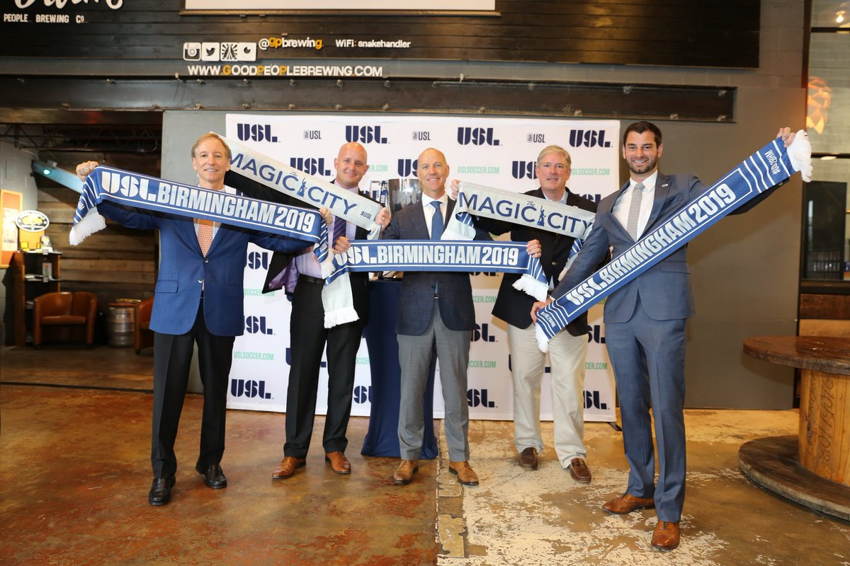 Professional soccer coming to Birmingham
