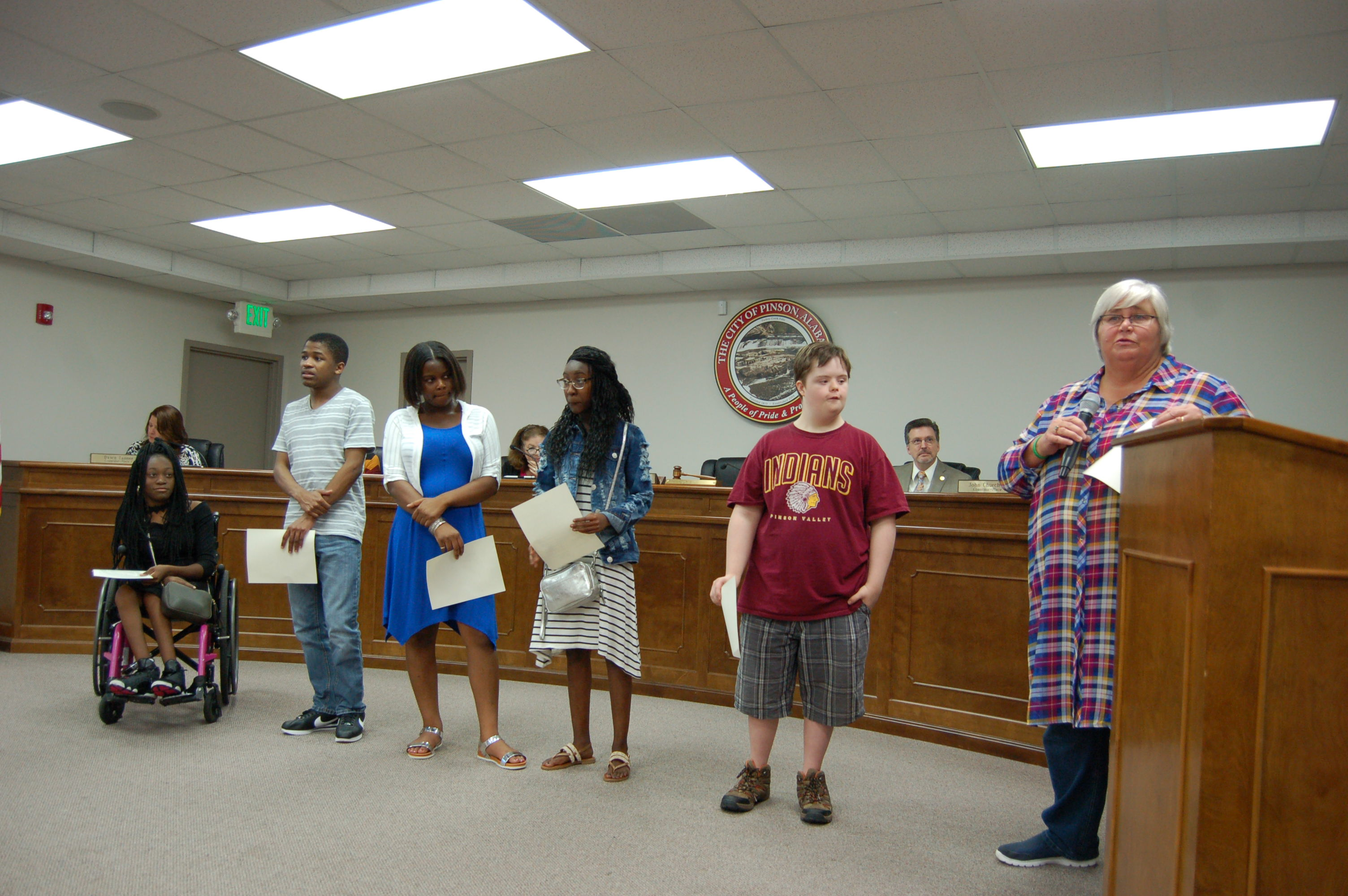 Pinson Council recognizes special Olympians from PVHS