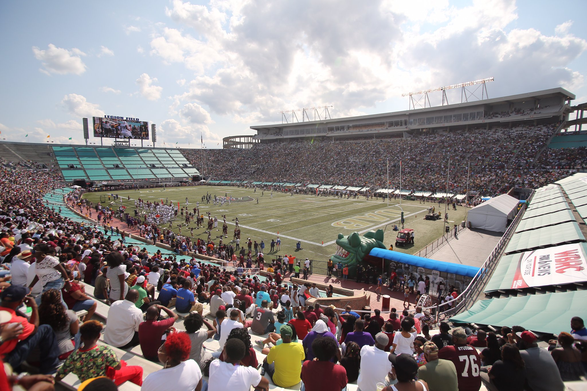 Football returns to record UAB crowd in win over Alabama A&M