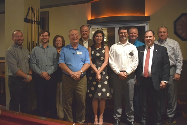 New Trussville Rotary Daybreak Club members inducted