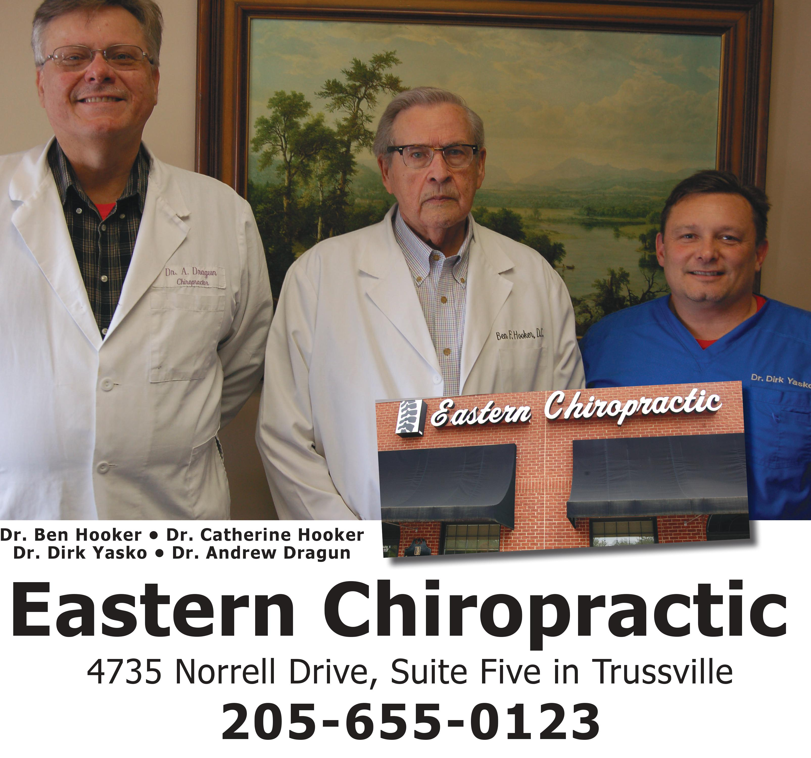 Eastern Chiropractic loves to help its patients
