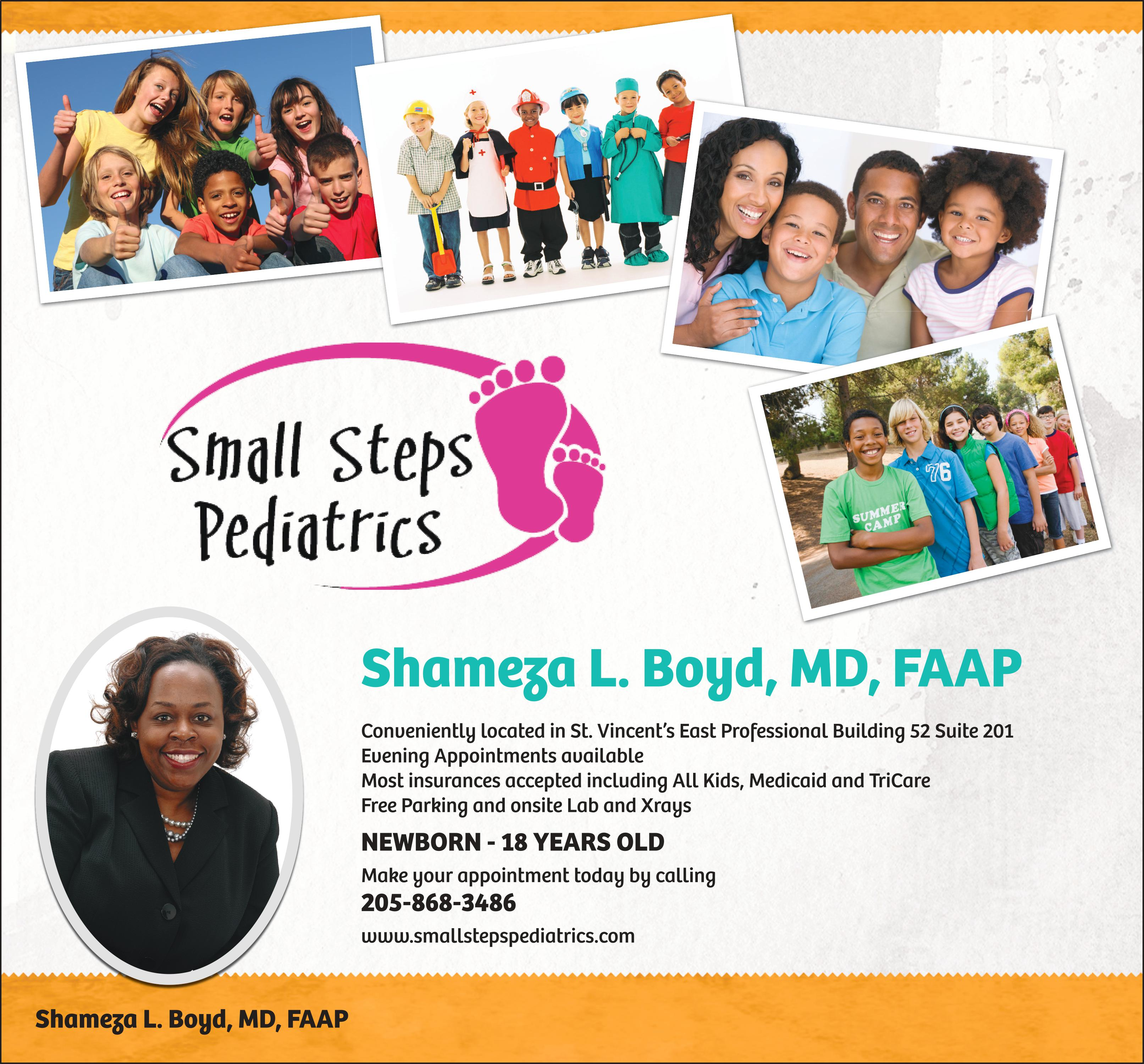 Small Steps Pediatrics doctor puts young patients at ease