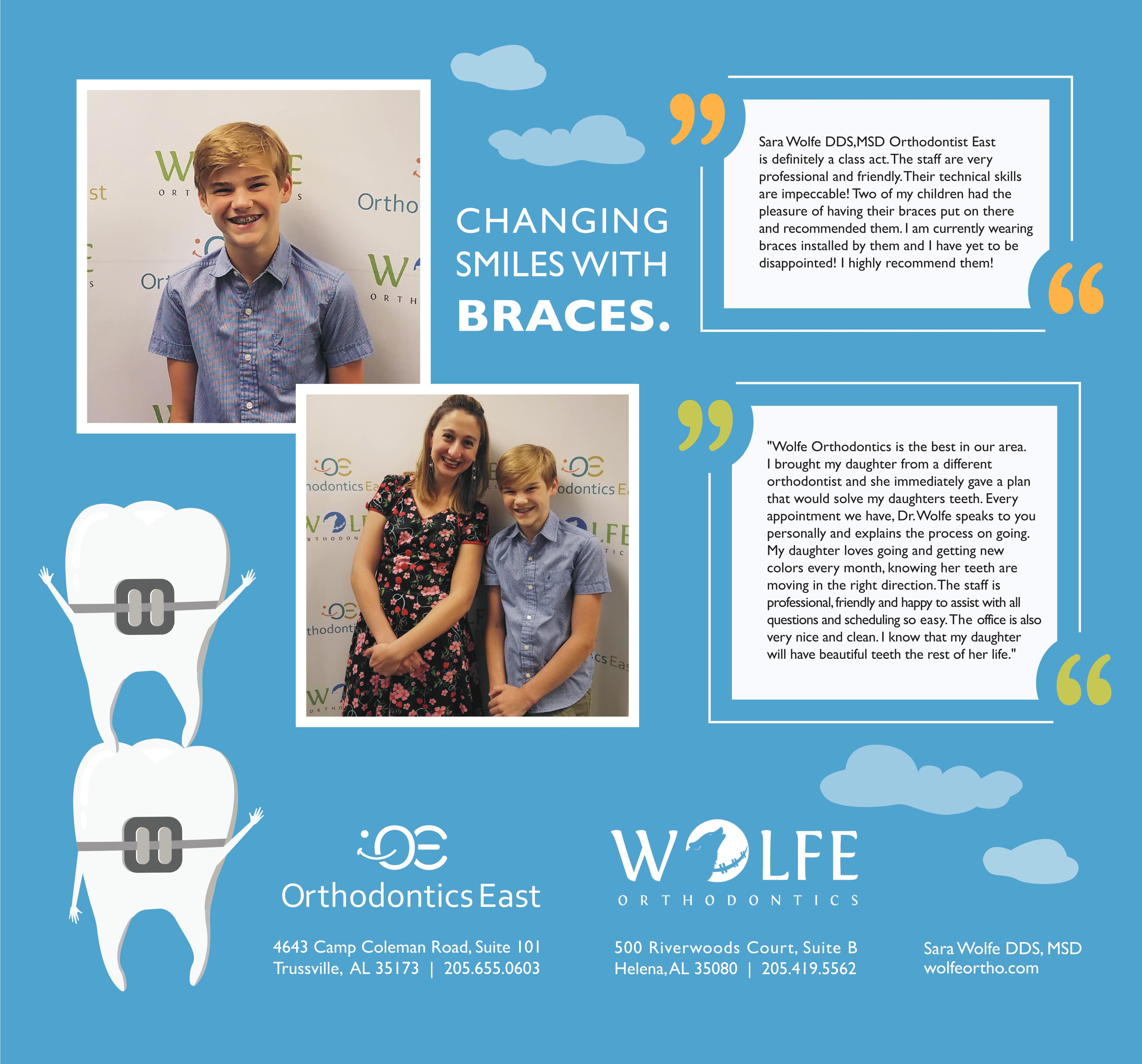 Orthodontics East in Trussville a  'personal' and 'family oriented' practice