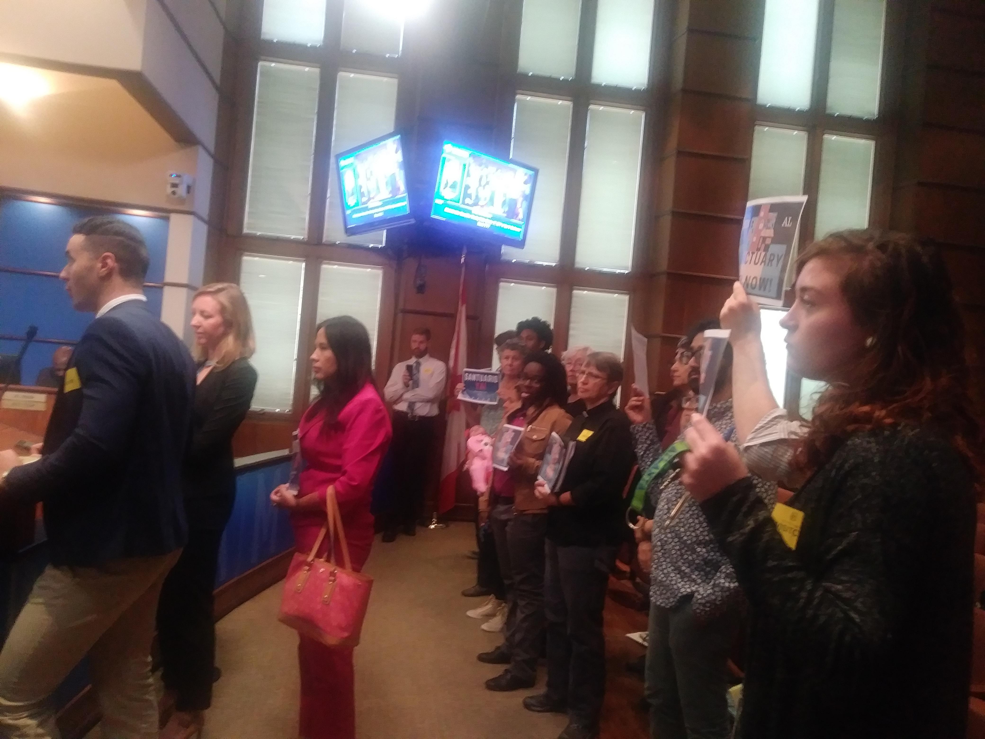 Birmingham City Council hears advocates of sanctuary city ordinance