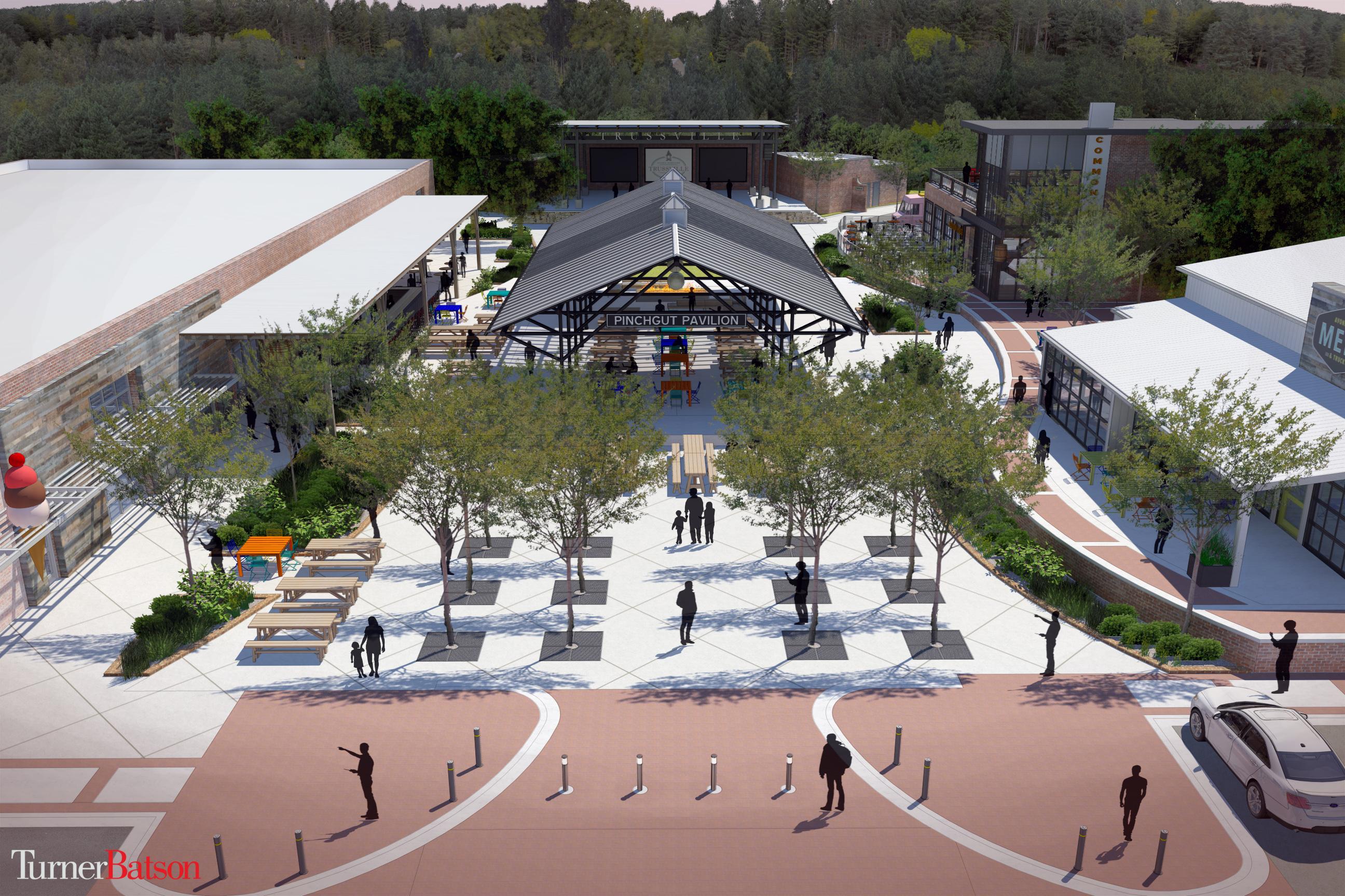 Mayor unveils comprehensive redevelopment plan for Trussville Downtown