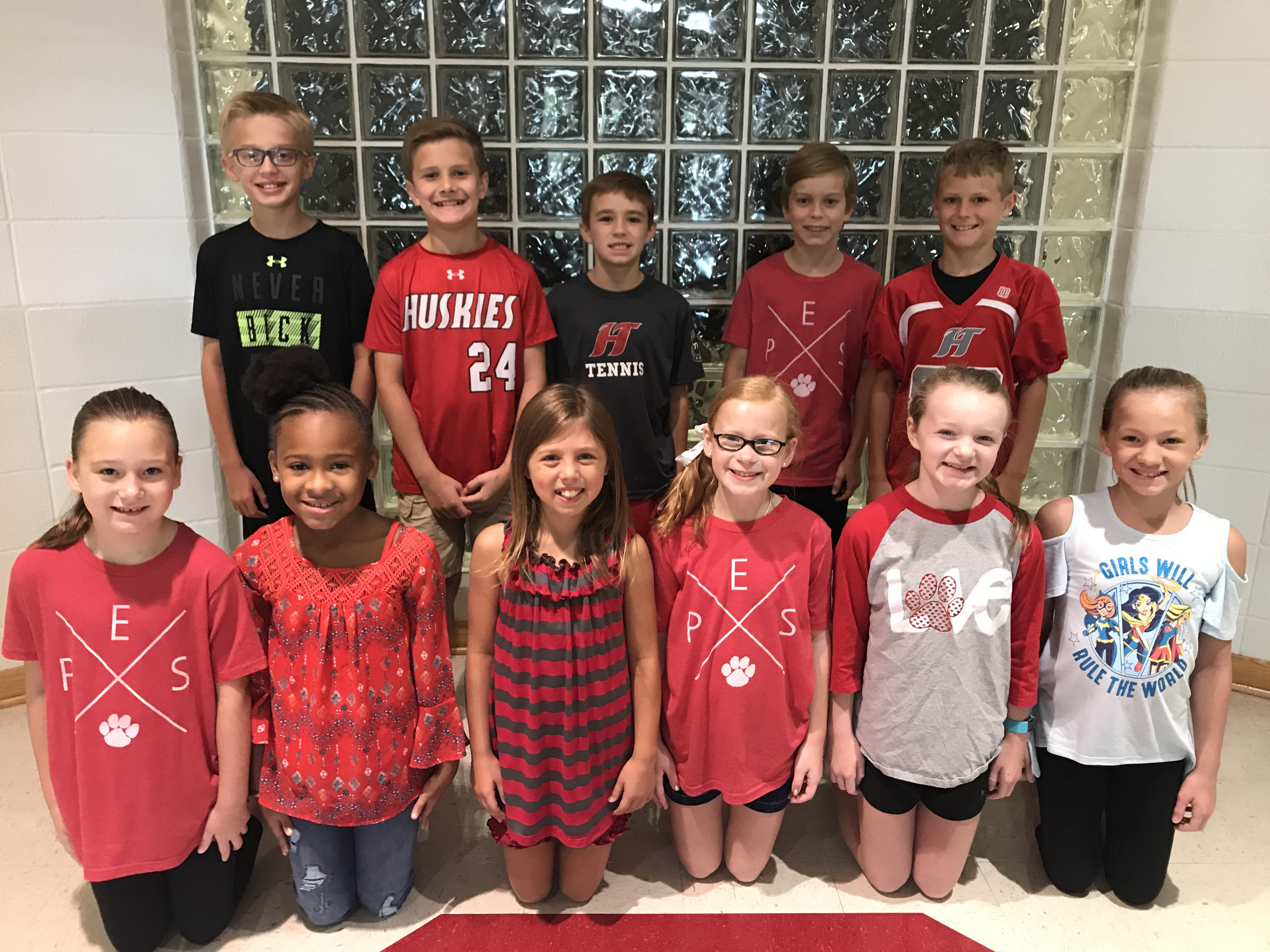 Paine Elementary School's FIRST Student Leadership team named