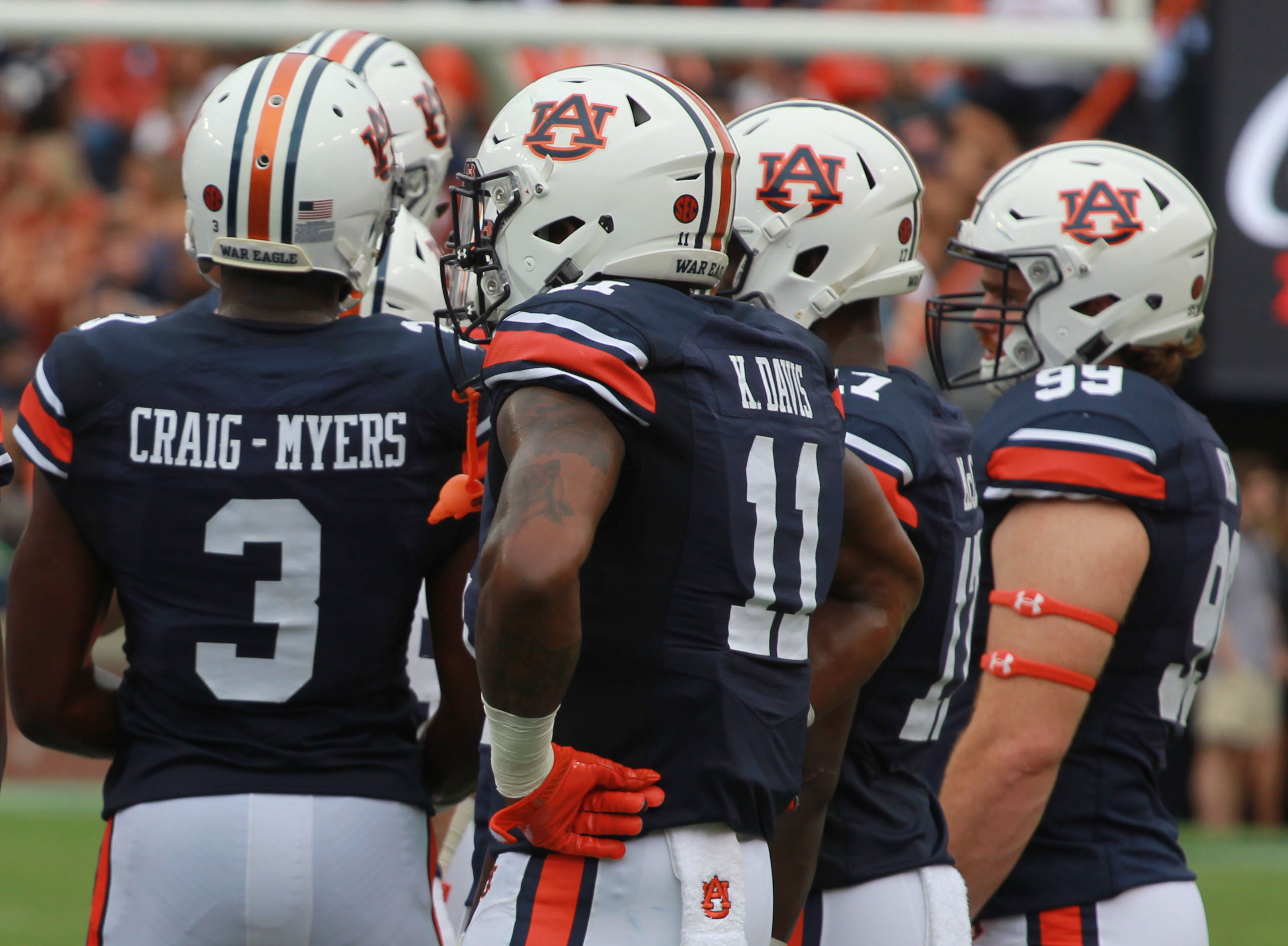 Former 4 Star Receiver Kicked Off Auburn Football Team