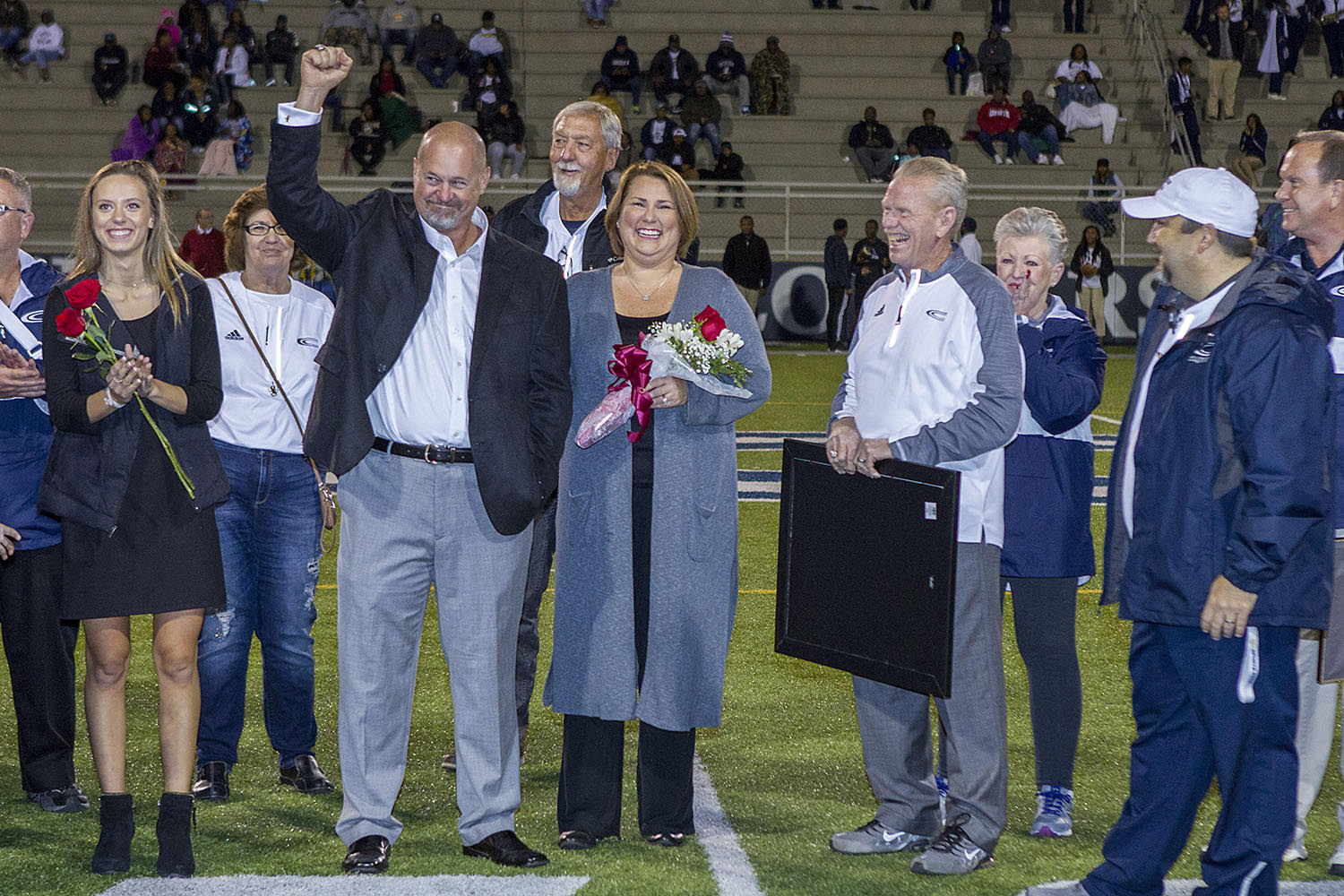 Clay-Chalkville names field for Jerry Hood in pregame ceremony