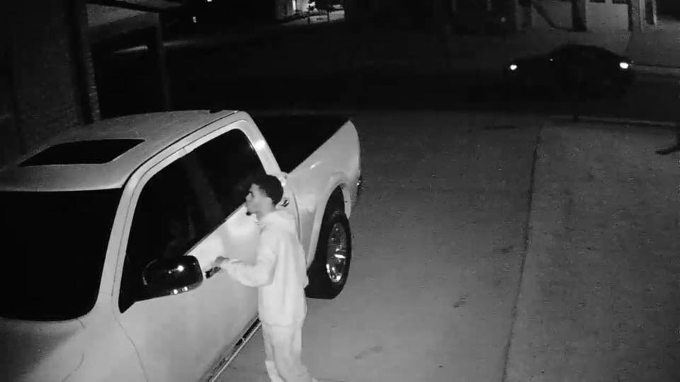 Police search for Stockton car thief