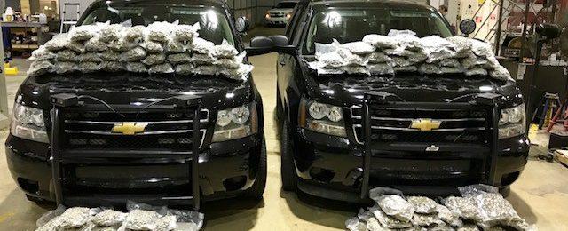 117 pounds of marijuana seized on I-22