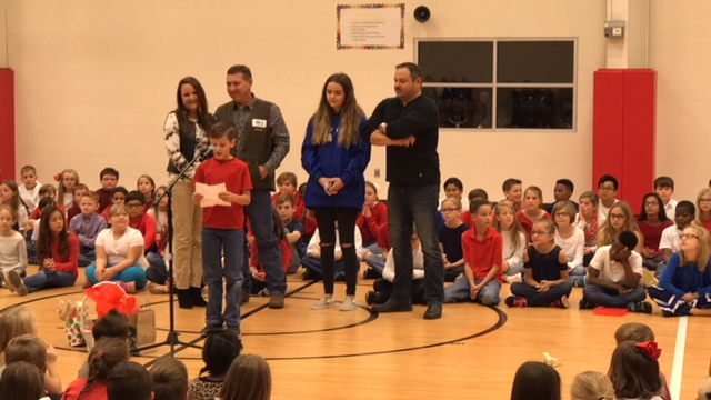 Magnolia student's letter part of Veterans Day program to remember