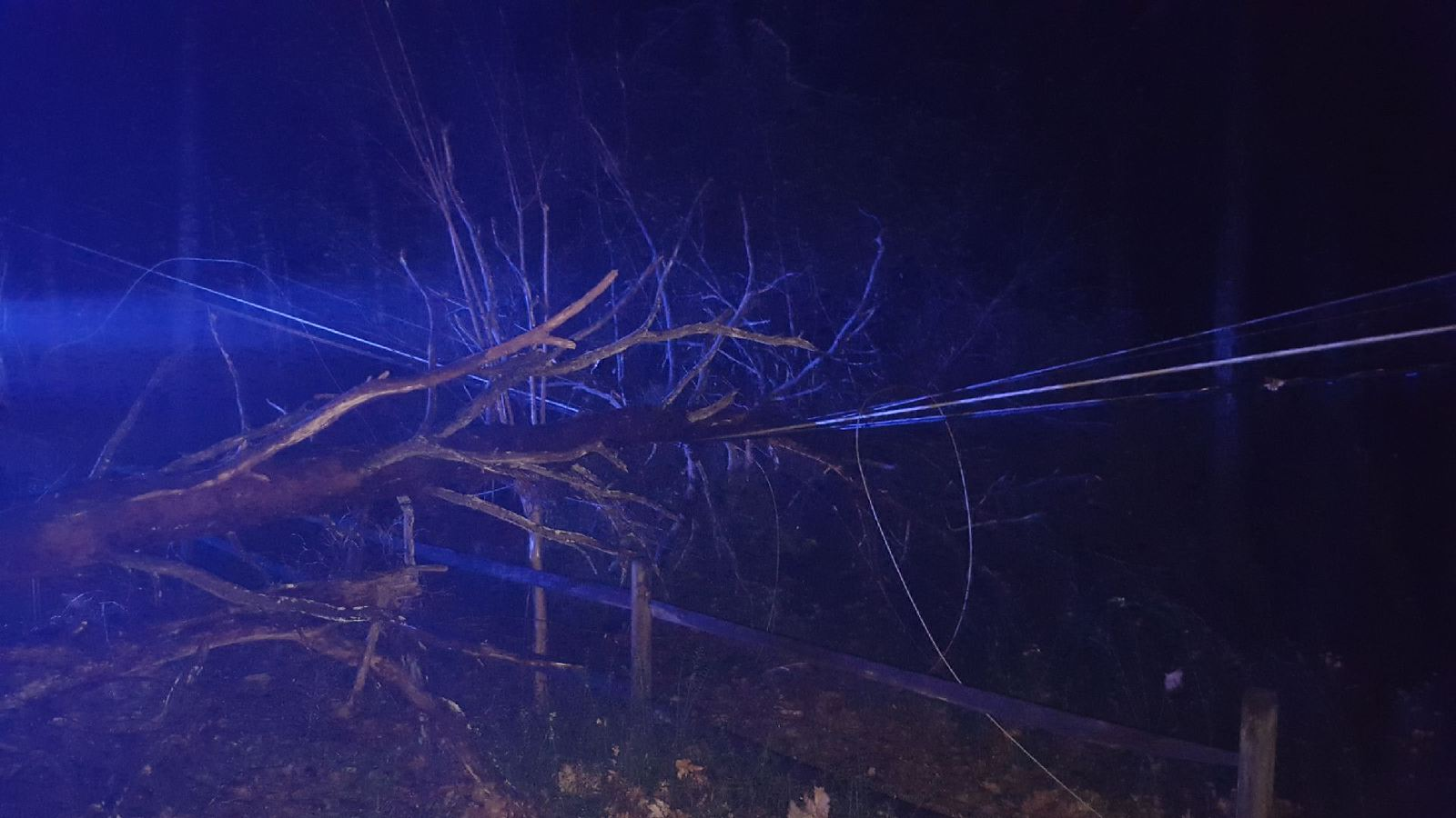 Power outages reported after storms overnight