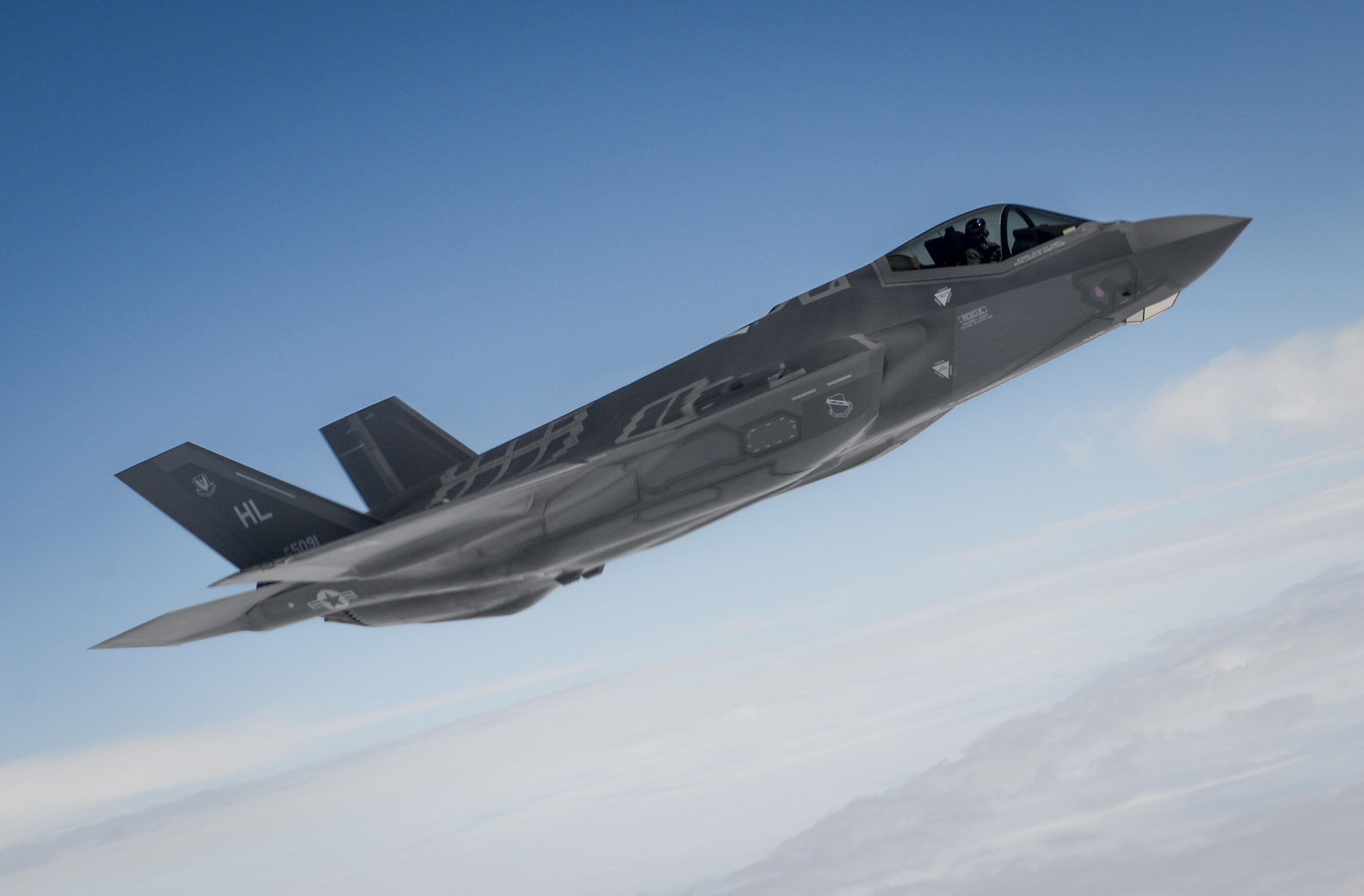 F-35 fighter jets to operate out of Alabama base
