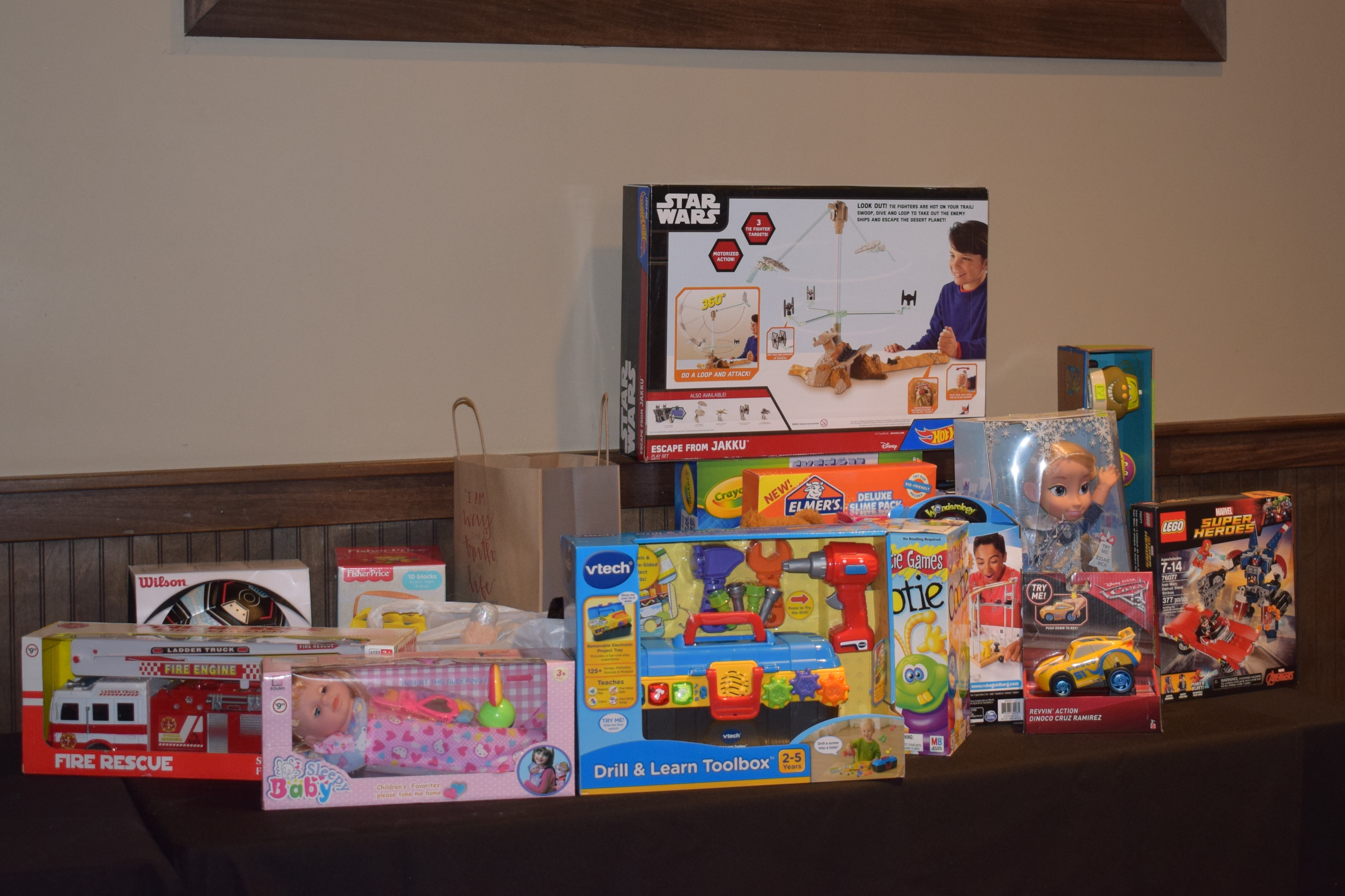 Rotary Club donates toys to Trussville Fire Department's 'Operation Stocking Stuffer'