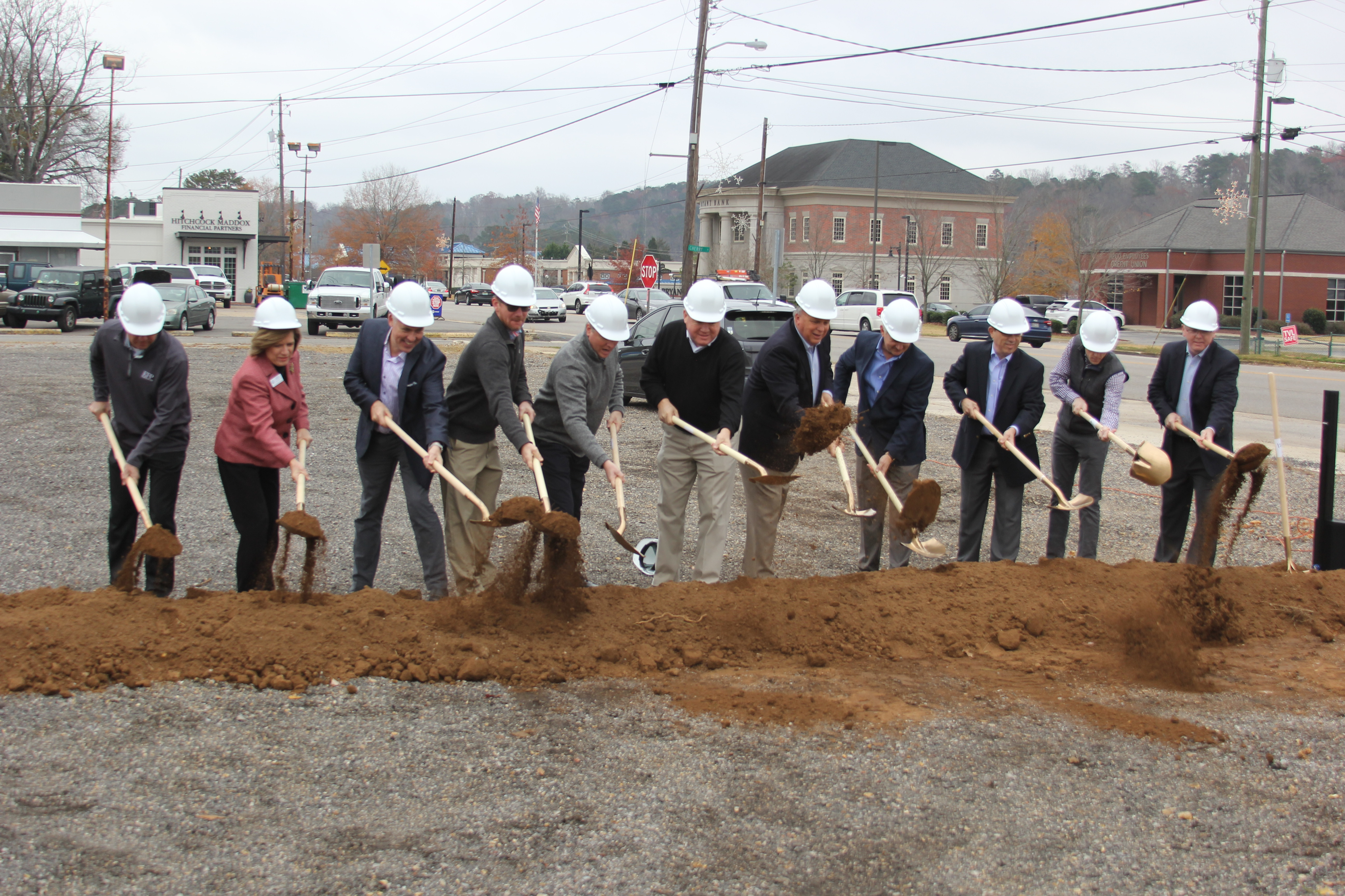 City of Trussville hosts groundbreaking for new Edgar's Bakery location