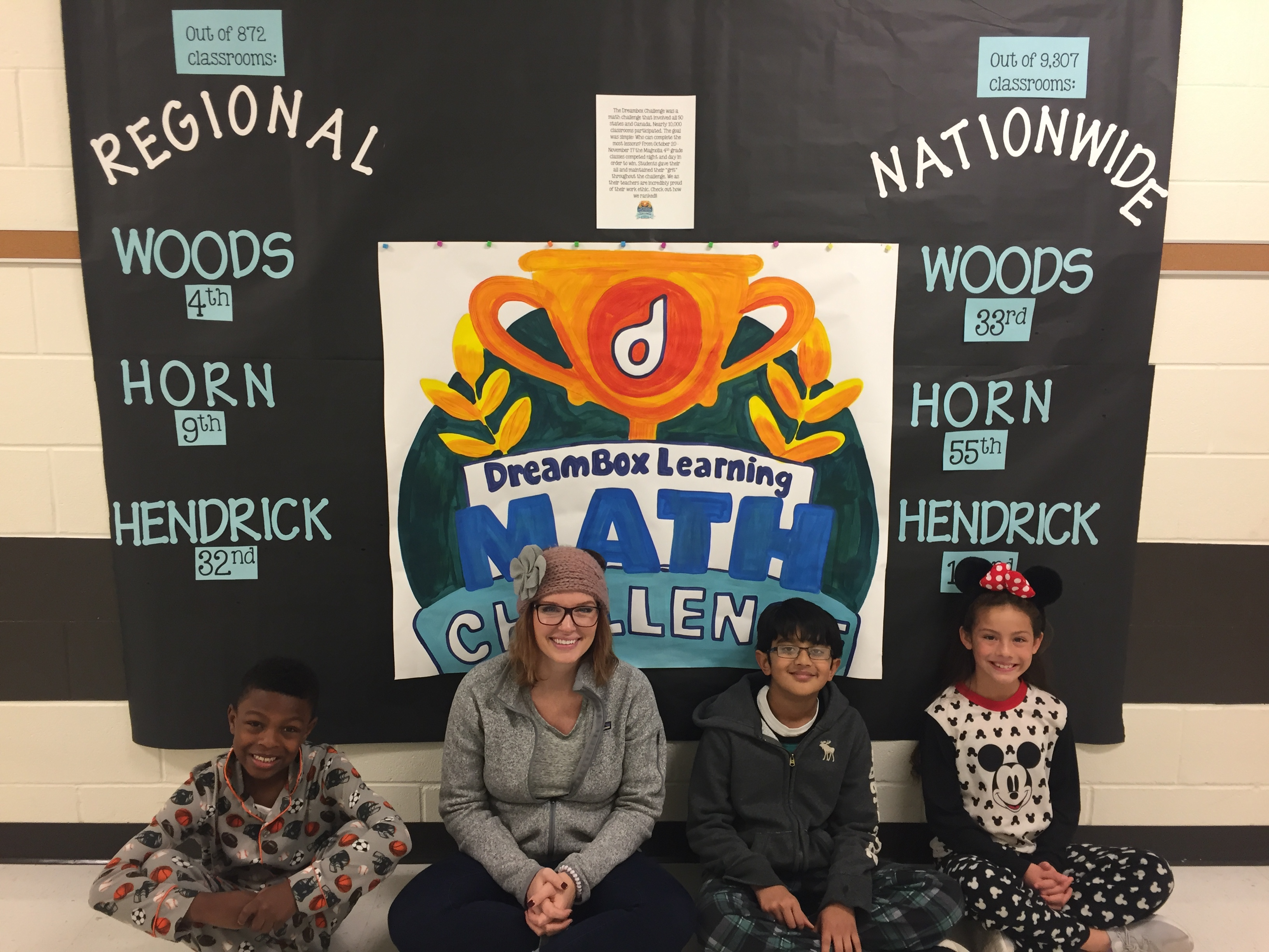 Magnolia 4th graders finish strong in fall math challenge