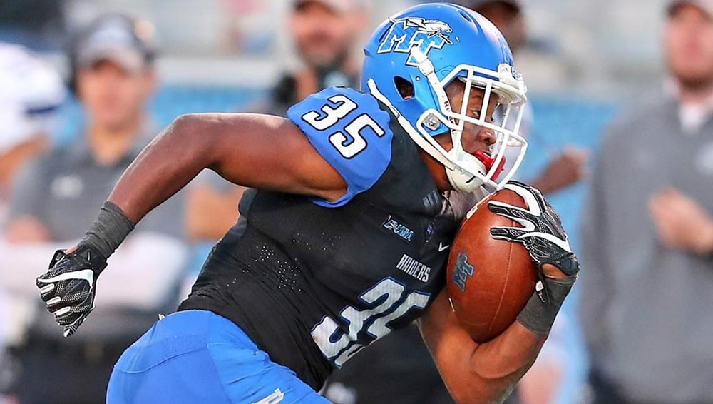 Former Cougar West helps Blue Raiders win Camellia Bowl