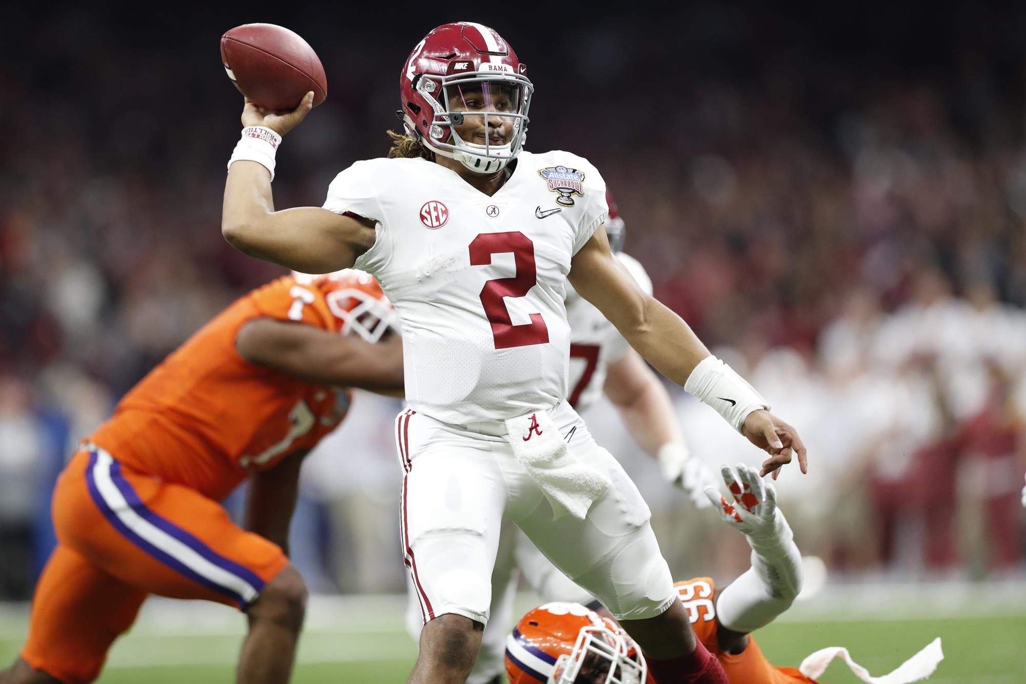 No. 4 Bama rolls No. 1 Clemson, heads to National Championship game