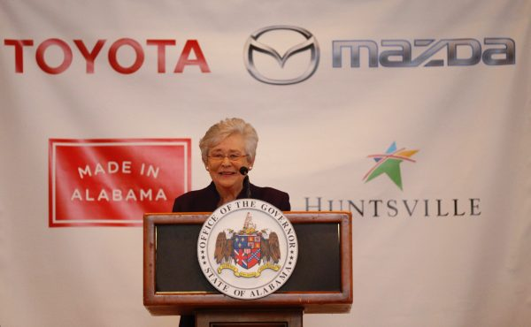 VIDEO: Gov. Kay Ivey announces Toyota-Mazda plant to be built in Huntsville