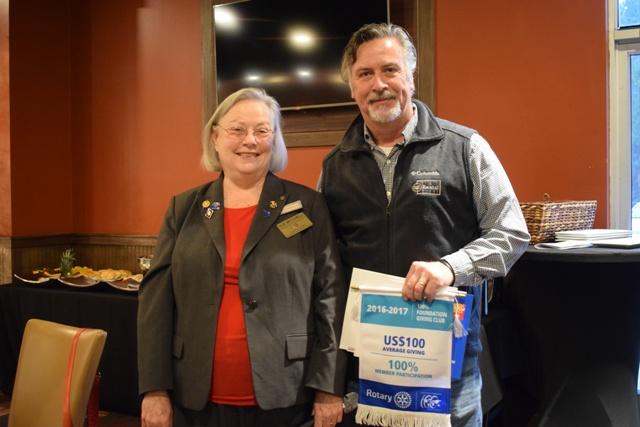 Rotary Club receives awards