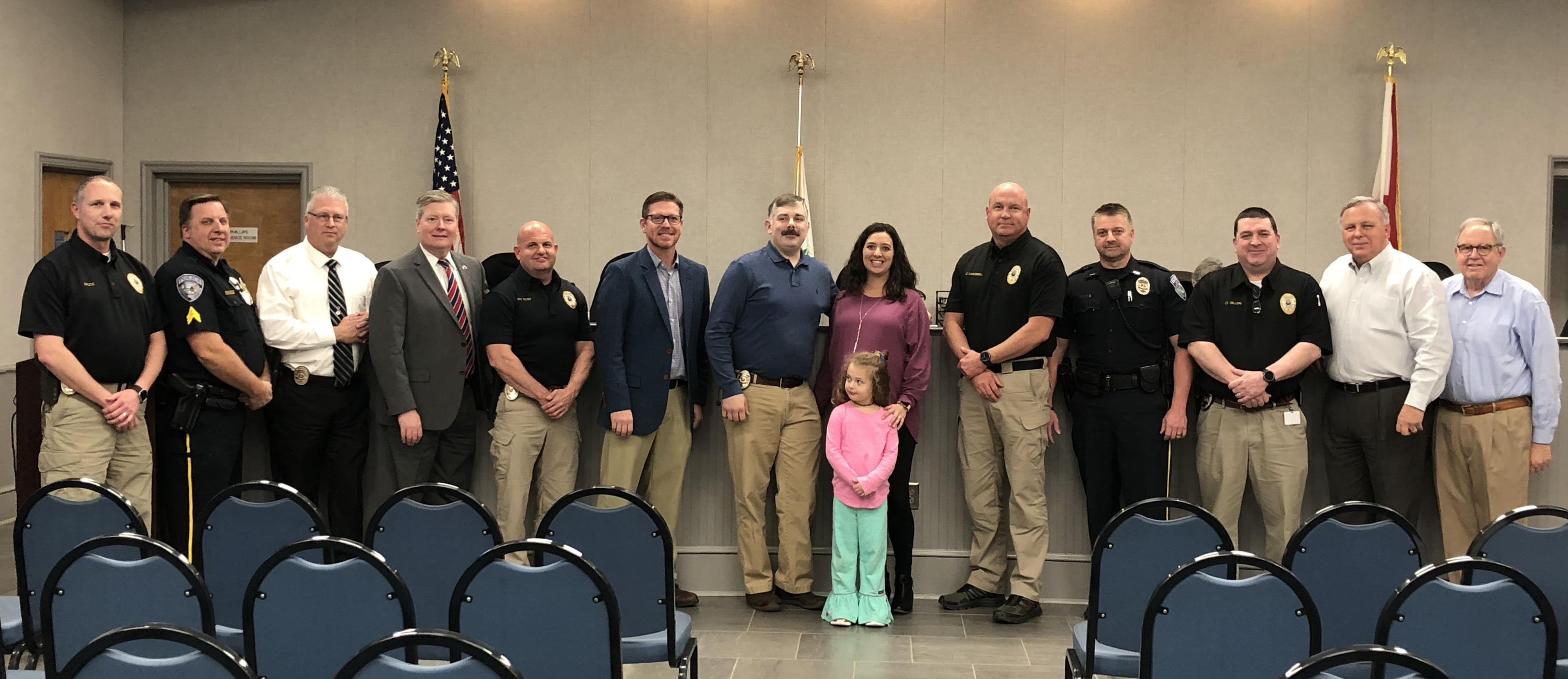 Trussville Council recognizes promotion of city officer