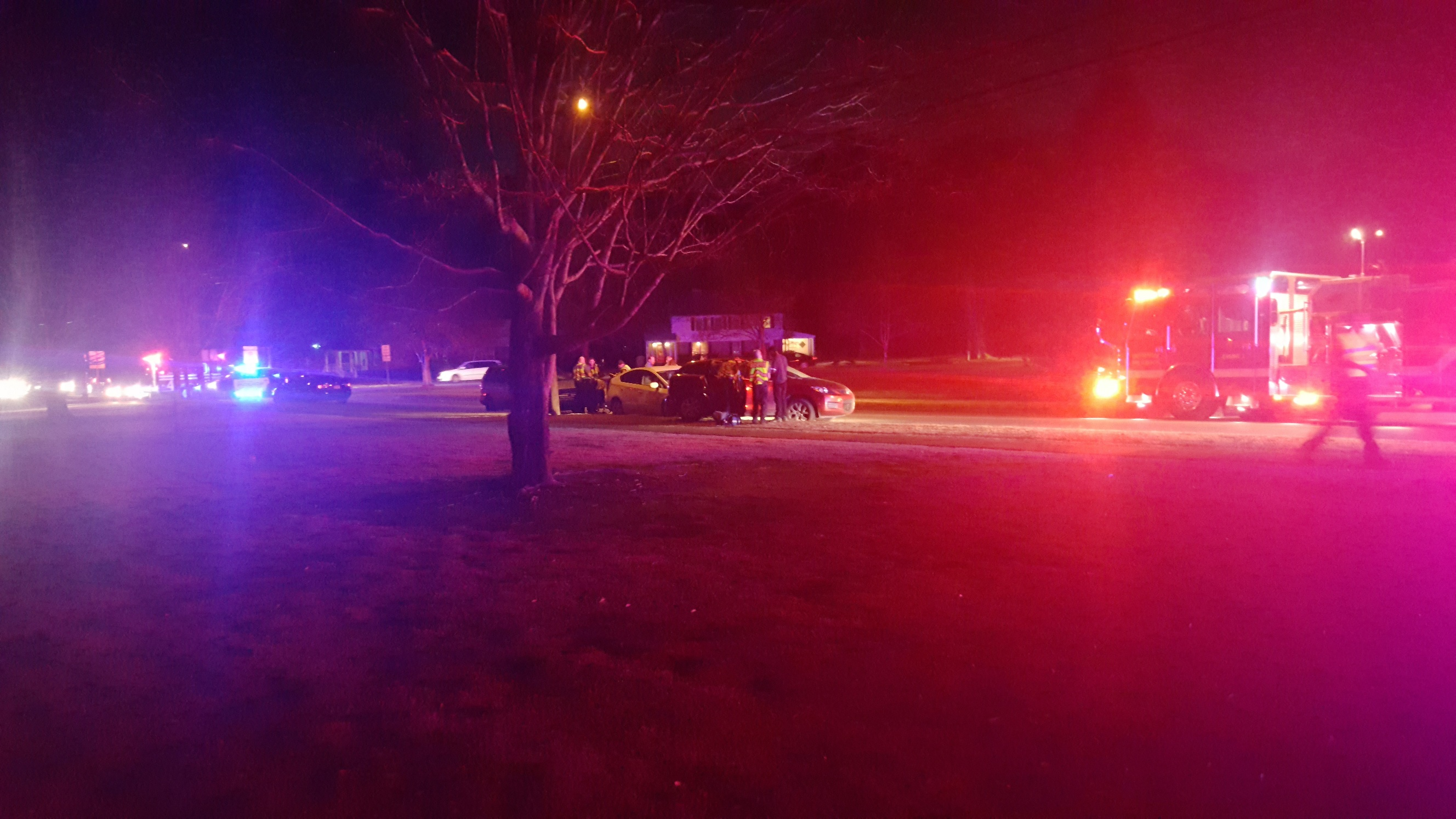 4 vehicle crash on North Chalkville sends one to the hospital