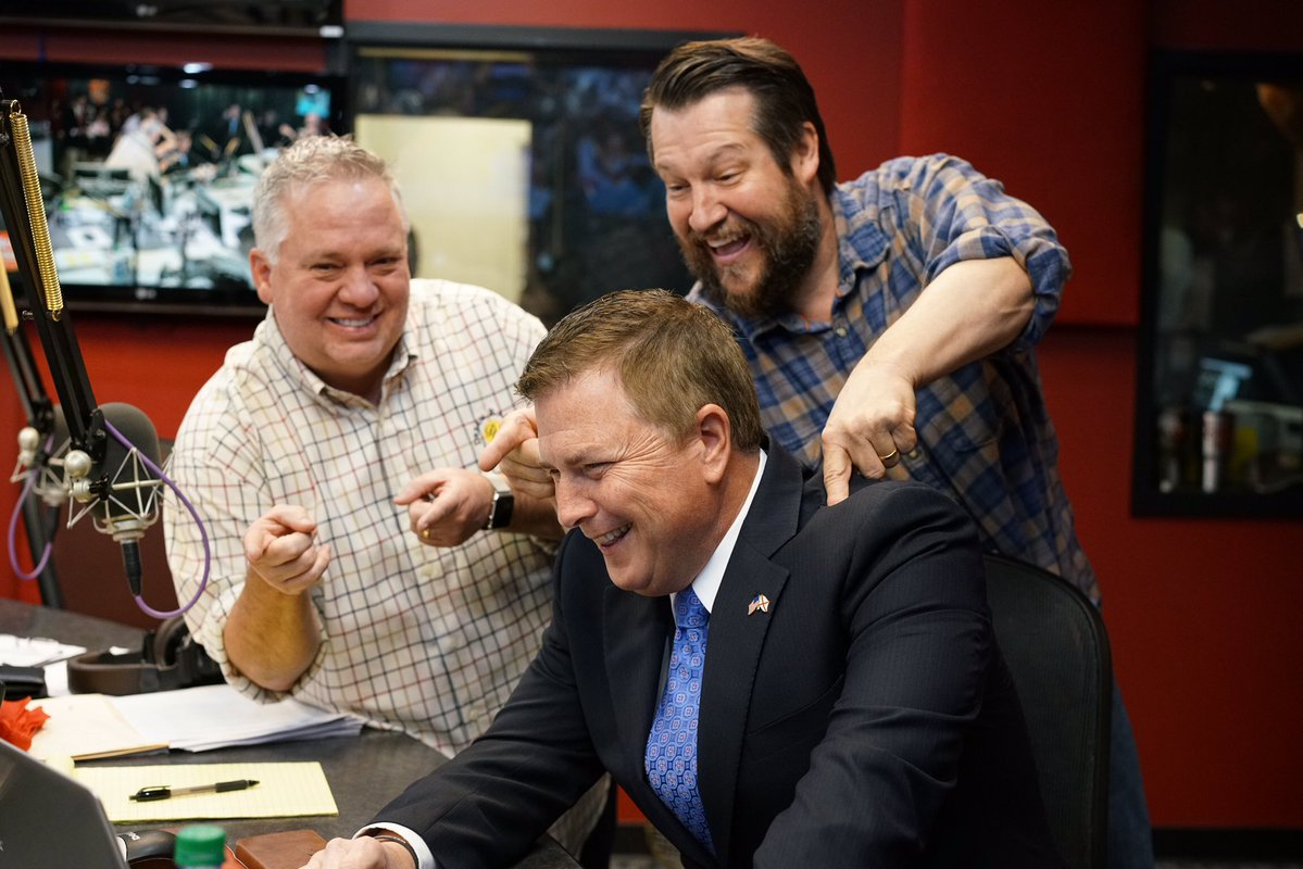 Dawson qualifies for governor's race on Rick and Bubba radio show